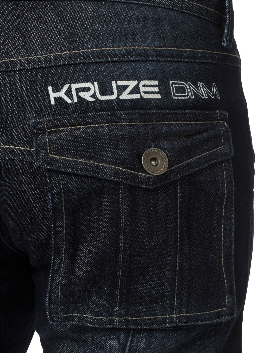KRUZE-Mens-Combat-Jeans-Casual-Cargo-Work-Pants-Denim-Trousers-All-Waist-Sizes thumbnail 25