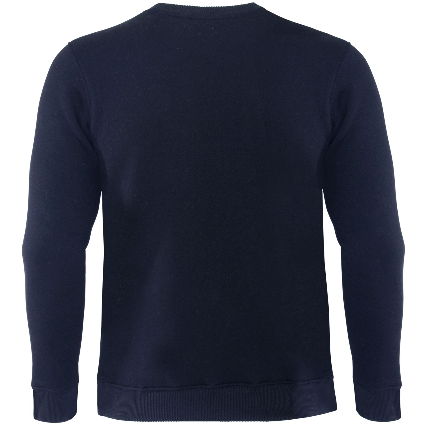 Mens-Crew-Neck-Sweatshirt-Jumper-Casual-Plain-Jersey-Fleece-Sweat-Top-Pullover thumbnail 7
