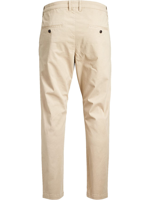 Jack-and-Jones-Para-hombre-Pantalones-Pantalones-Algodon-Anti-Fit-Twill-Disenador-Jeans-Chinos miniatura 8