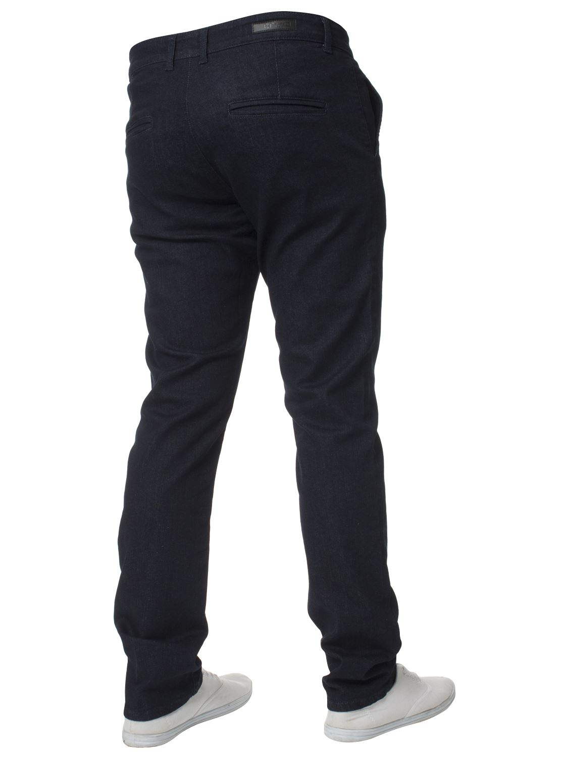 New-Mens-Enzo-Jeans-Denim-Chinos-Skinny-Slim-Fit-Super-Stretch-Trousers-Pants thumbnail 9