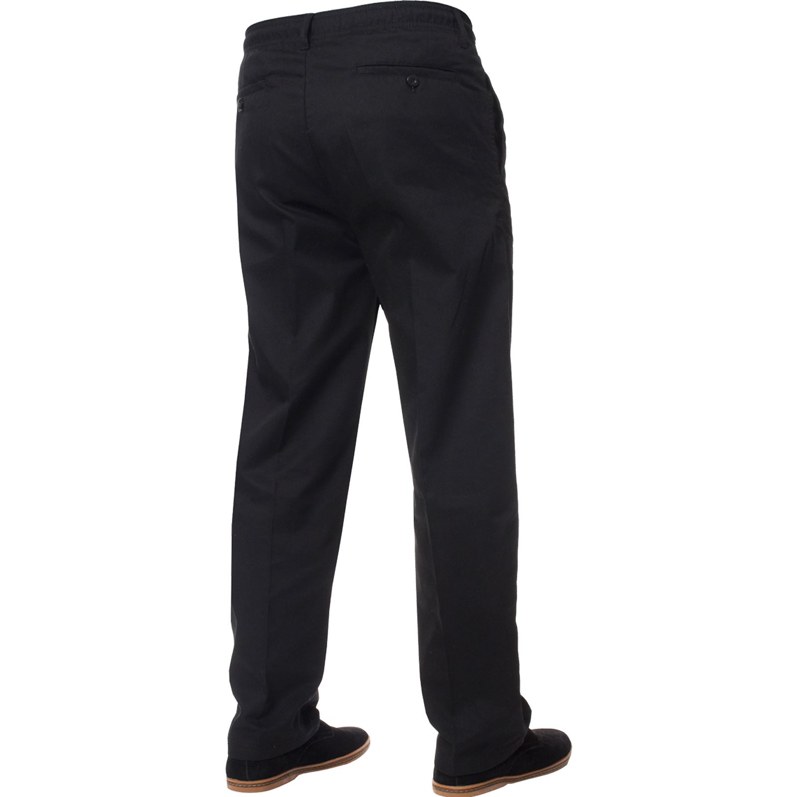 Mens-Rugby-Trousers-Kruze-Elasticated-Waist-Drawstring-Pants-Regular-King-Sizes thumbnail 6