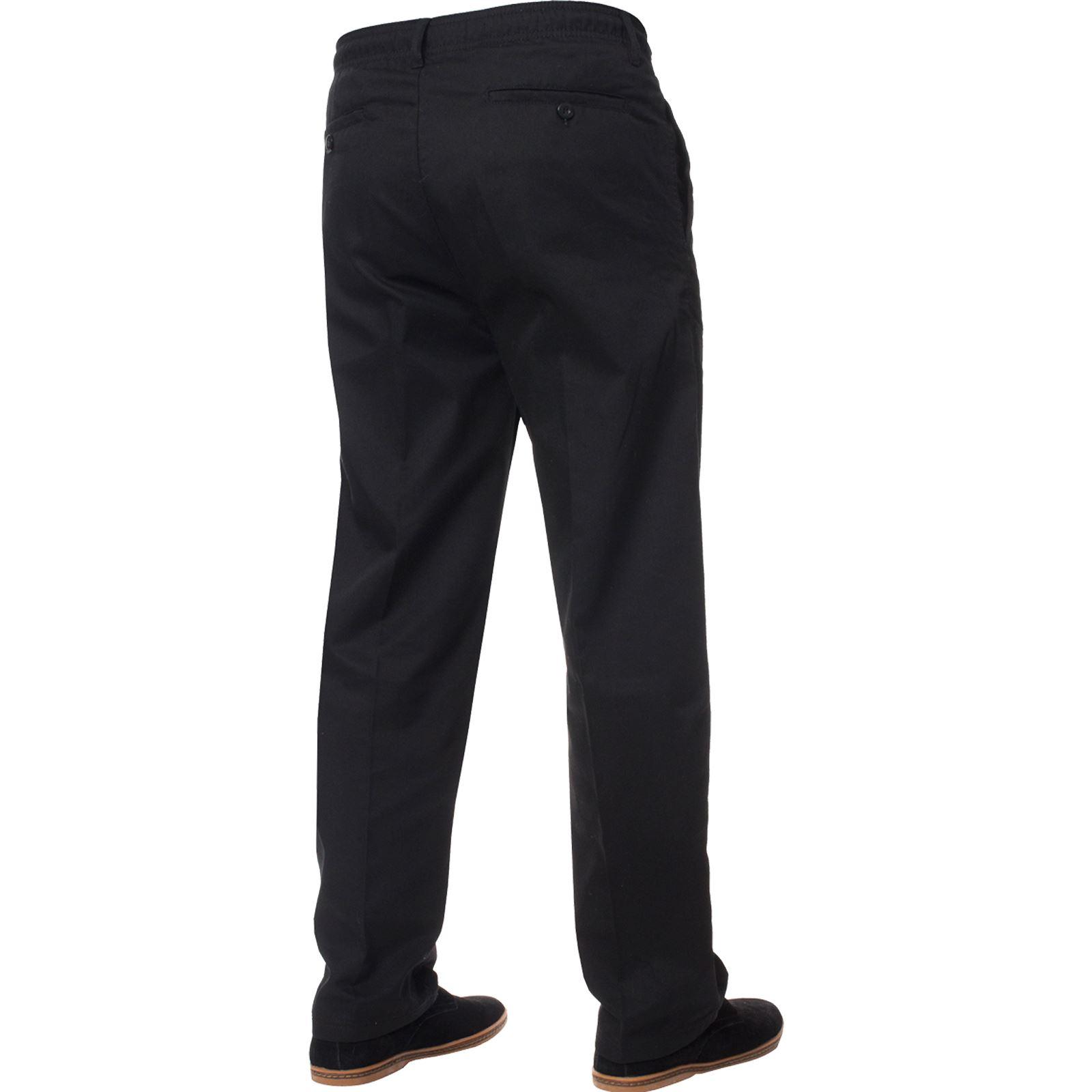 Para-Hombres-Pantalones-De-Rugby-Kruze-cintura-elastica-con-cordon-pantalones-REGULAR-King-Tamanos miniatura 6
