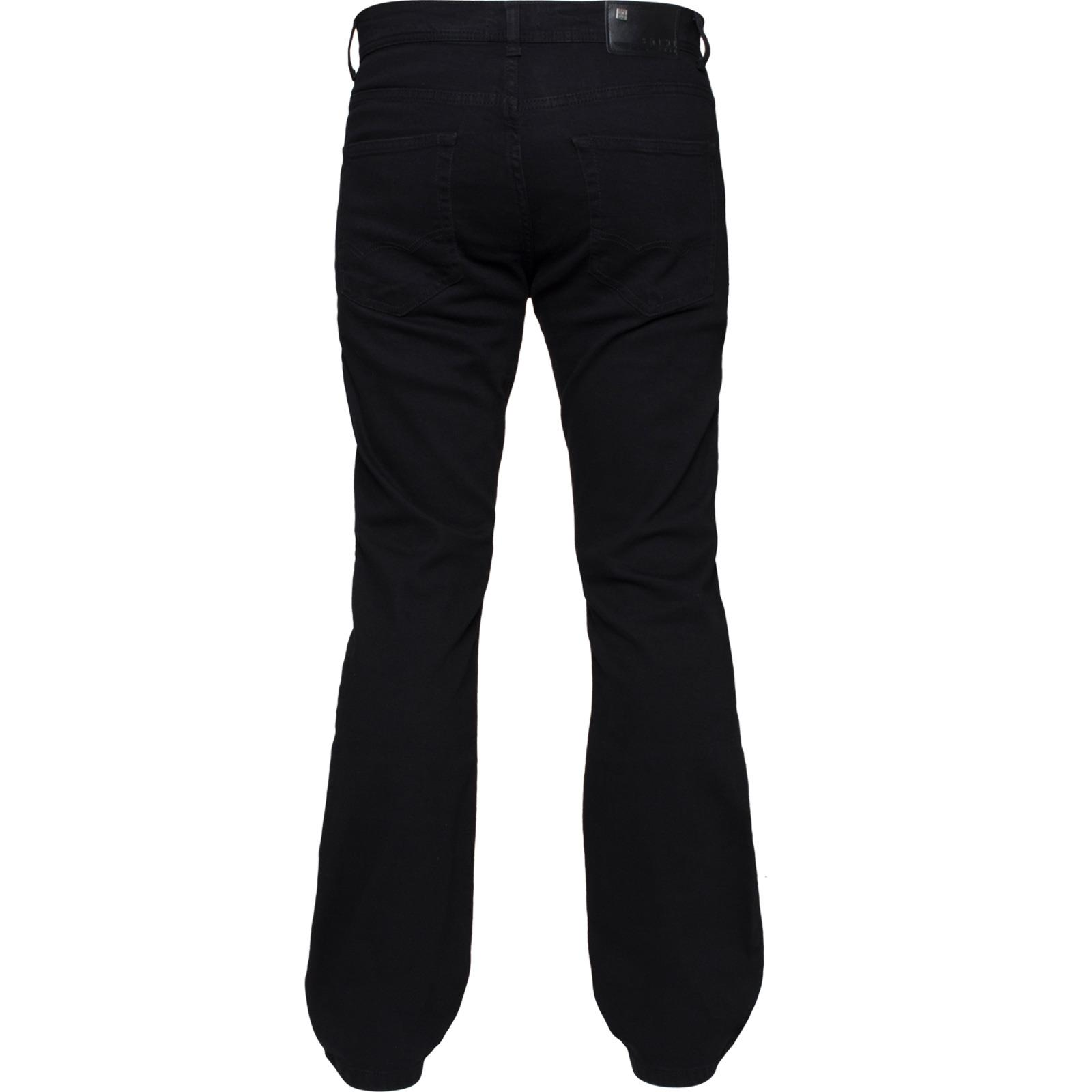 Enzo-Mens-Jeans-Big-Tall-Leg-King-Size-Denim-Pants-Chino-Trousers-Waist-44-034-60-034 miniature 59