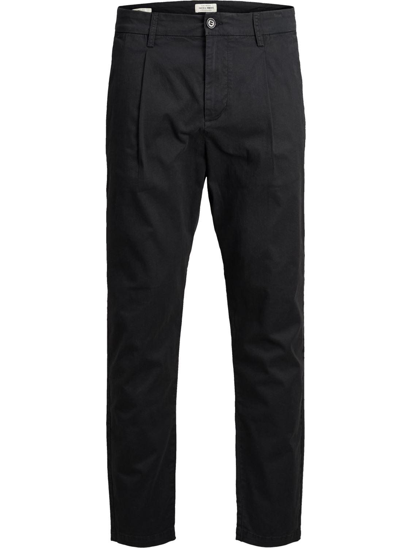 Jack-and-Jones-Para-hombre-Pantalones-Pantalones-Algodon-Anti-Fit-Twill-Disenador-Jeans-Chinos miniatura 3