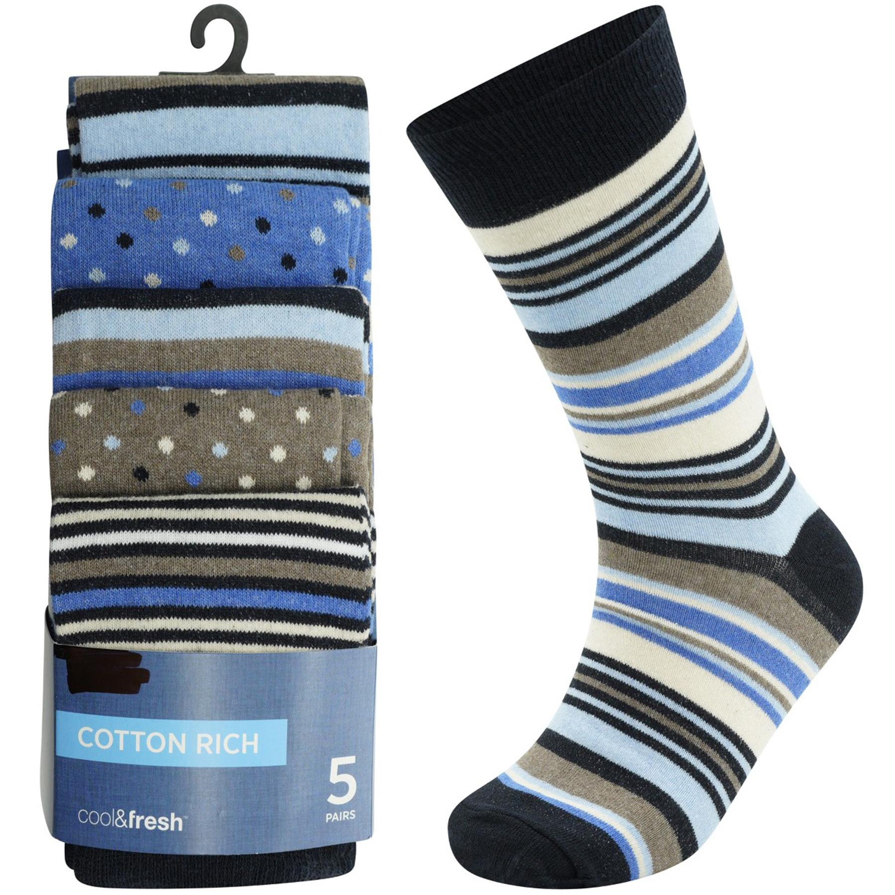 Ex M /& S Women Socks 8 /& 5 Pairs Soft Cotton Rich Casual Ankle Sock UK 6-12