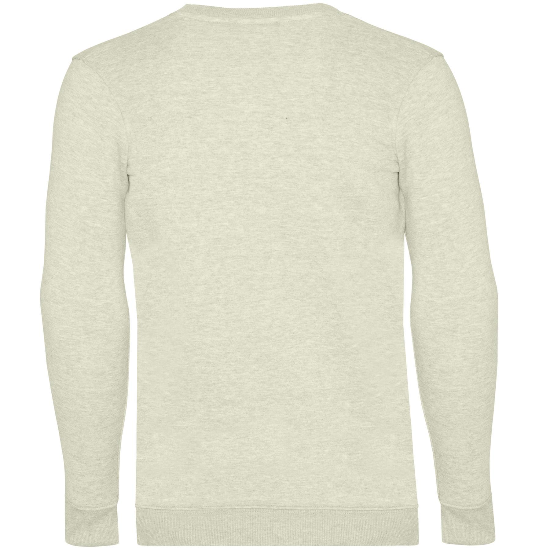 Mens-Jumper-Crew-Neck-Knitwear-Sweatshirt-Casual-Jersey-Fleece-SweatTop-Pullover thumbnail 9