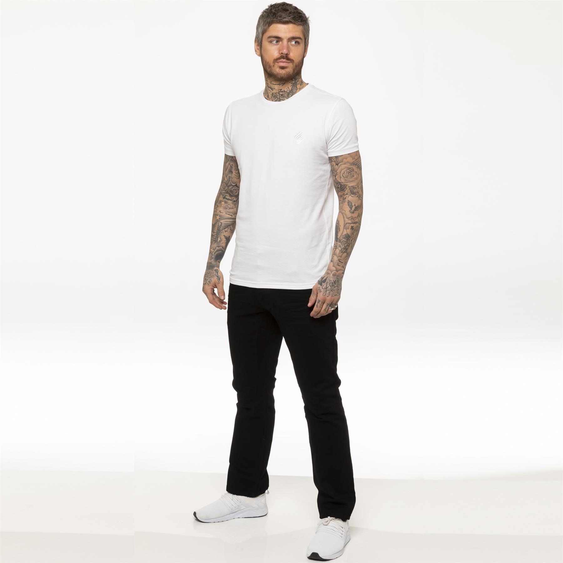 miniature 7 - Enzo pour homme coupe droite regular leg homme travail Denim Pantalon Toutes Tailles Tailles
