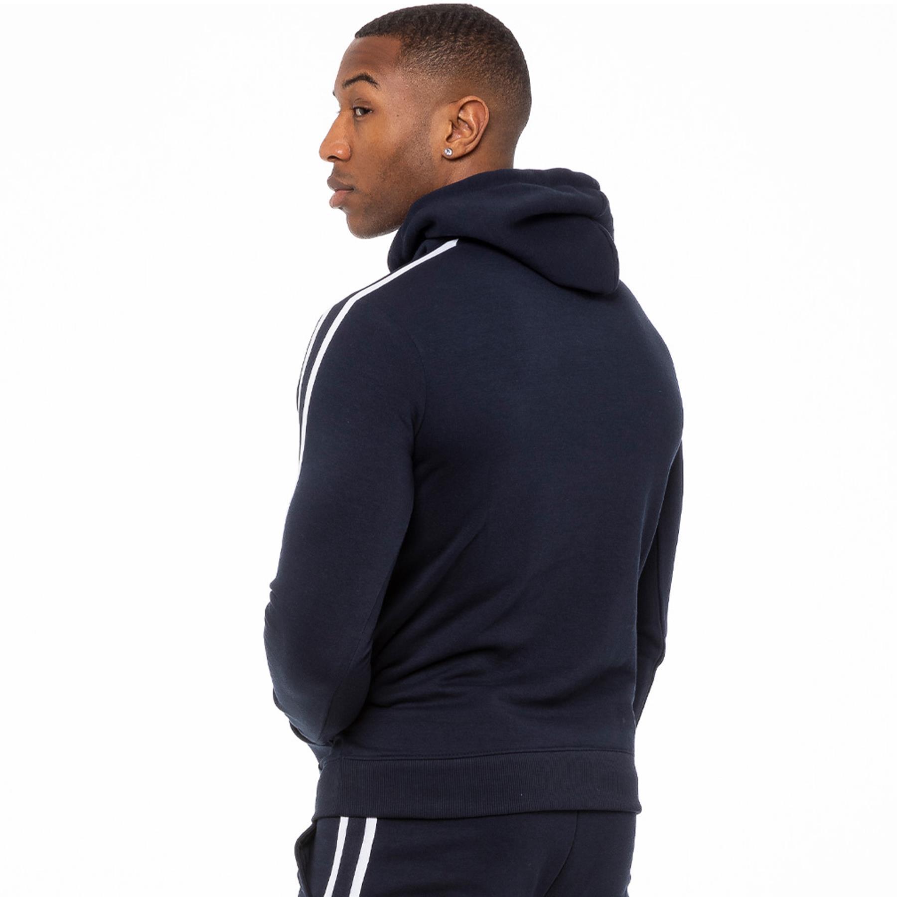 thumbnail 36 - Enzo Mens Full Tracksuit Set Pullover Hoodie Hooded Sweatshirt Joggers Bottoms