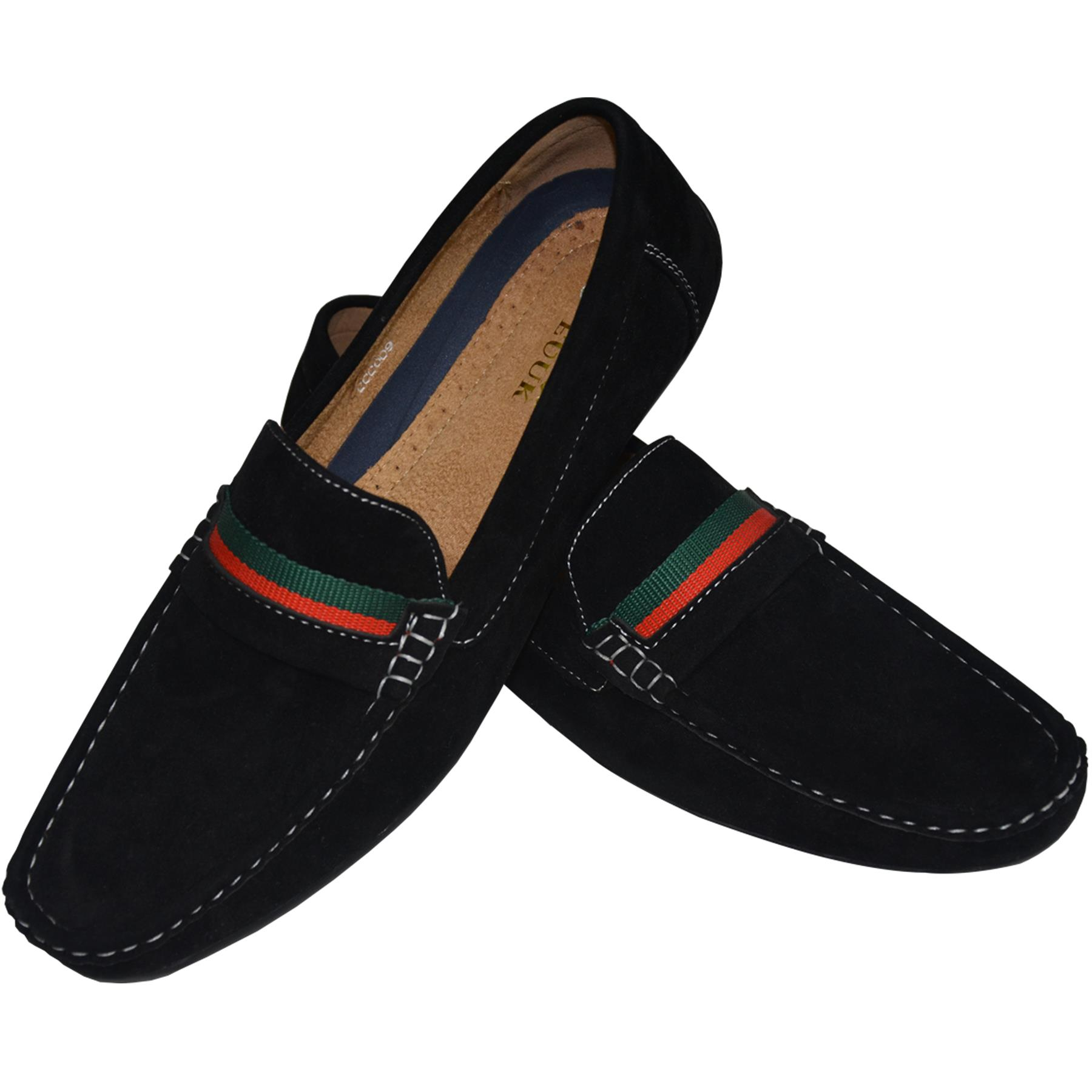 Mens-Suede-Loafers-Shoes-Moccasin-Slip-On-Casual-Boat-Driving-UK-Sizes-6-12 thumbnail 22