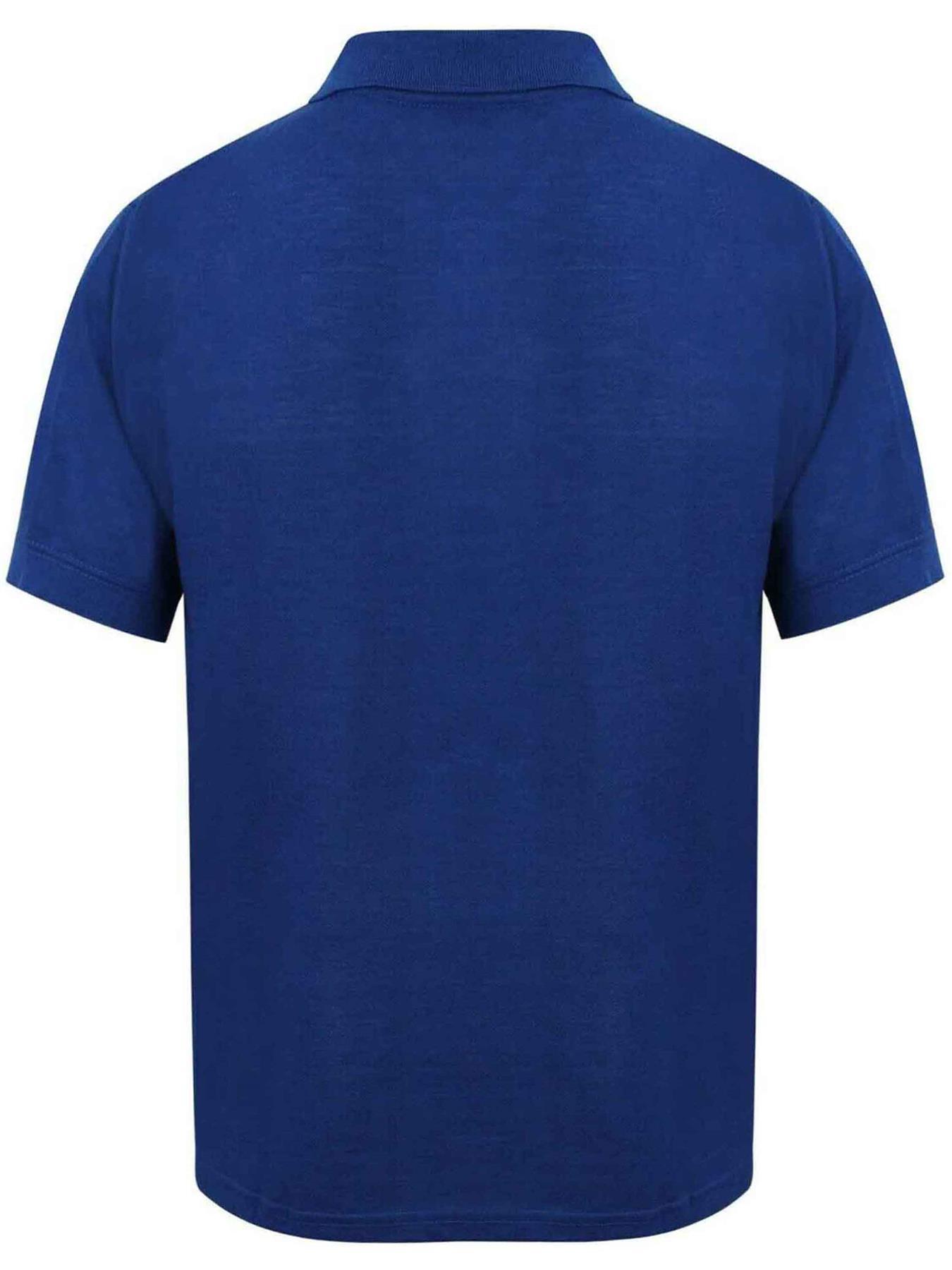 Indexbild 56 - Herren Polohemd Freizeit T-Shirts Neu Schlicht Kurzärmeliges Regular Fit