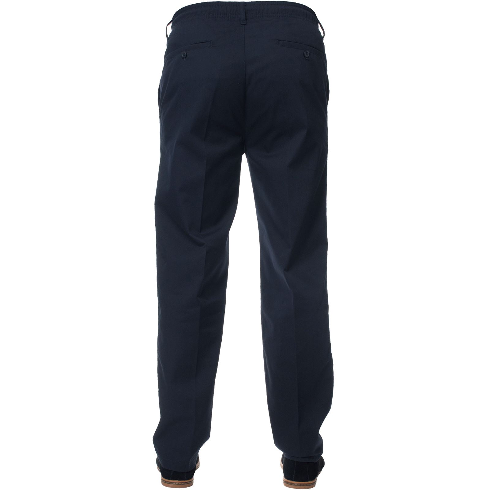 Mens-Rugby-Trousers-Kruze-Elasticated-Waist-Drawstring-Pants-Regular-King-Sizes thumbnail 9