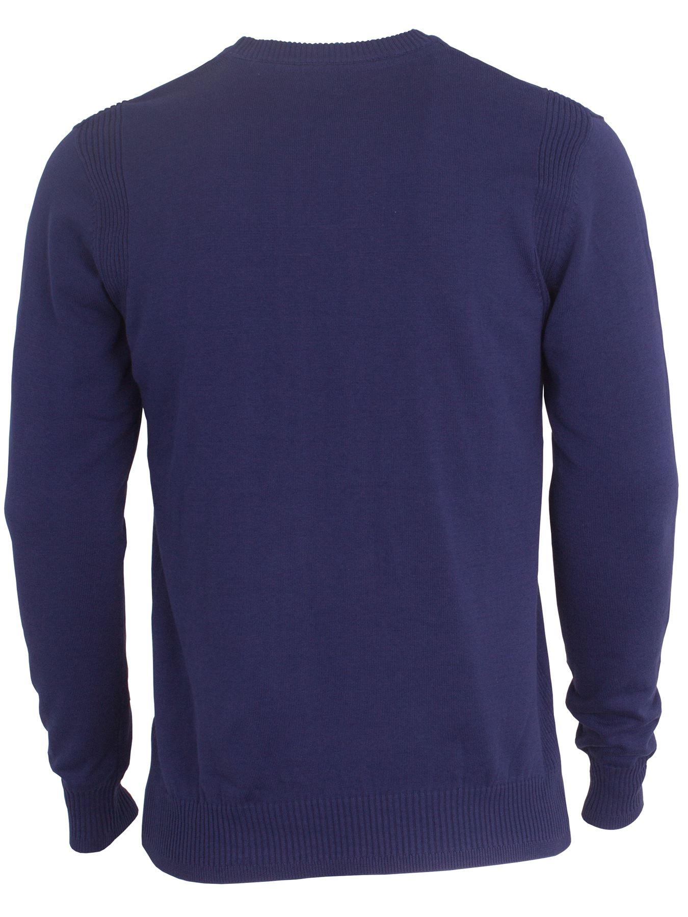 Eto-Para-Hombre-Disenador-Polo-Knitted-Jumper-cuello-redondo-generos-de-punto-manga-larga-Sueter miniatura 6