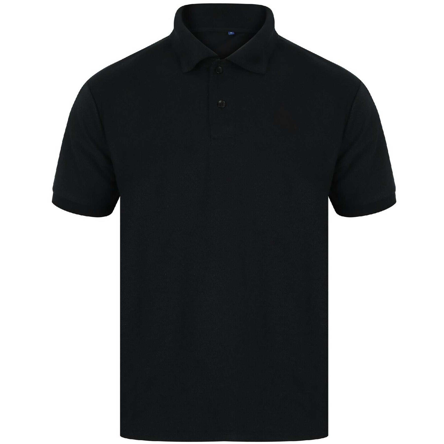 Indexbild 5 - Herren Polohemd Freizeit T-Shirts Neu Schlicht Kurzärmeliges Regular Fit