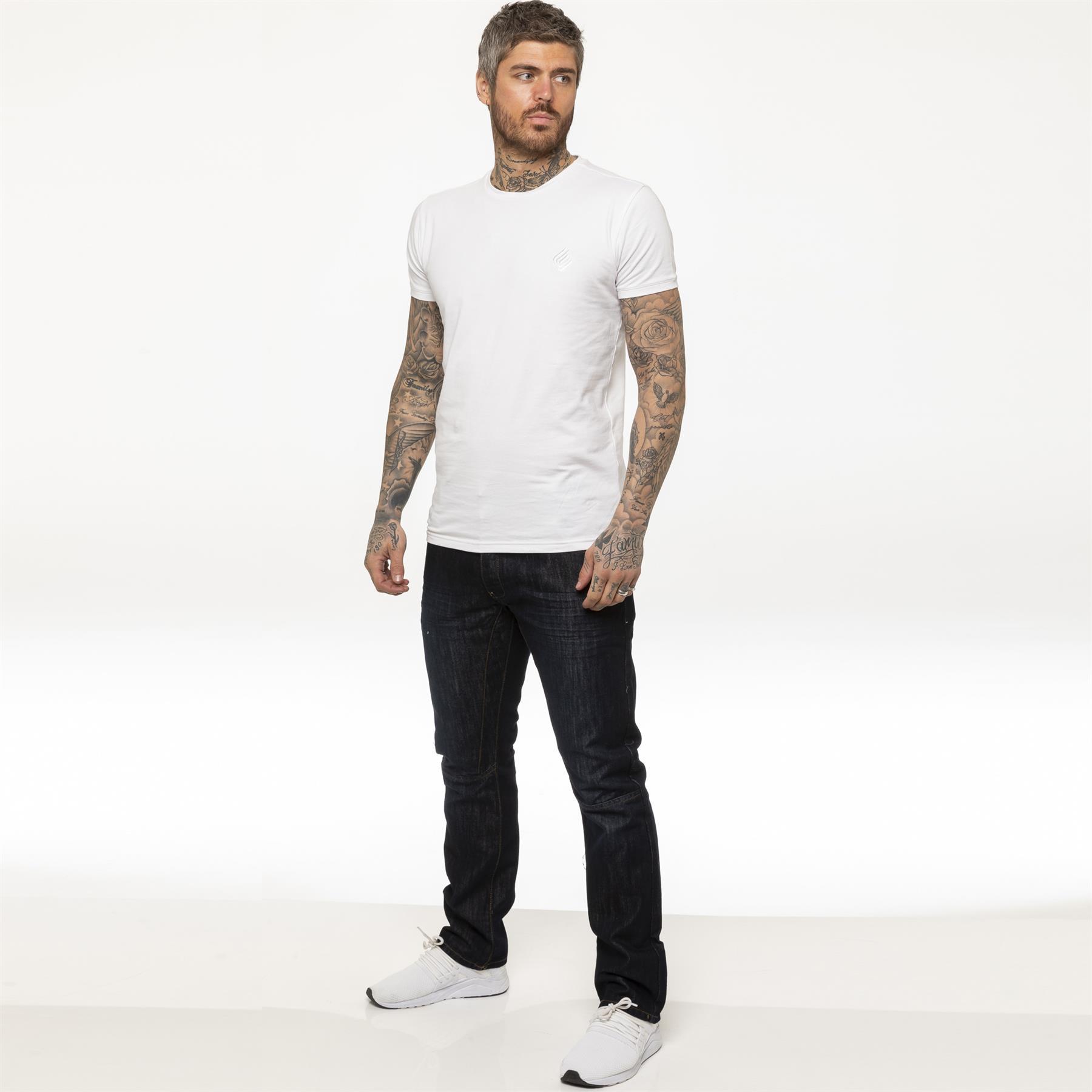 miniature 19 - Enzo pour homme coupe droite regular leg homme travail Denim Pantalon Toutes Tailles Tailles