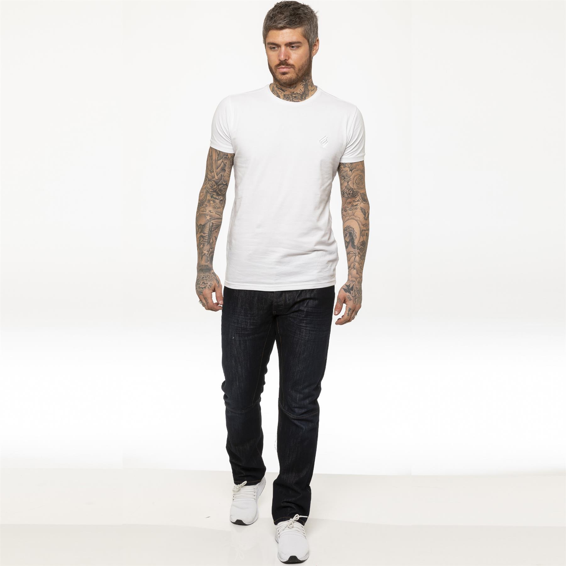 miniature 20 - Enzo pour homme coupe droite regular leg homme travail Denim Pantalon Toutes Tailles Tailles