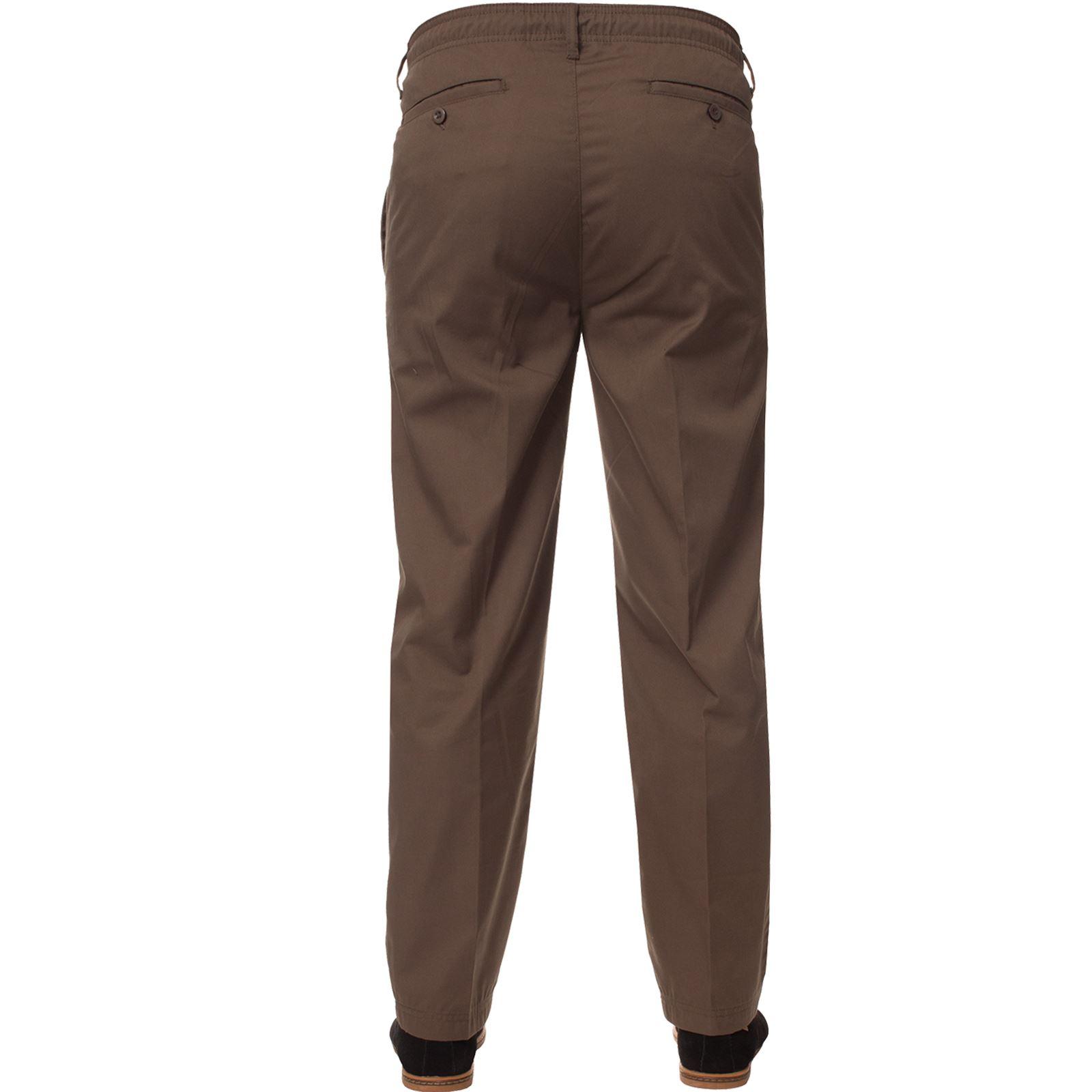 Para-Hombres-Pantalones-De-Rugby-Kruze-cintura-elastica-con-cordon-pantalones-REGULAR-King-Tamanos miniatura 14