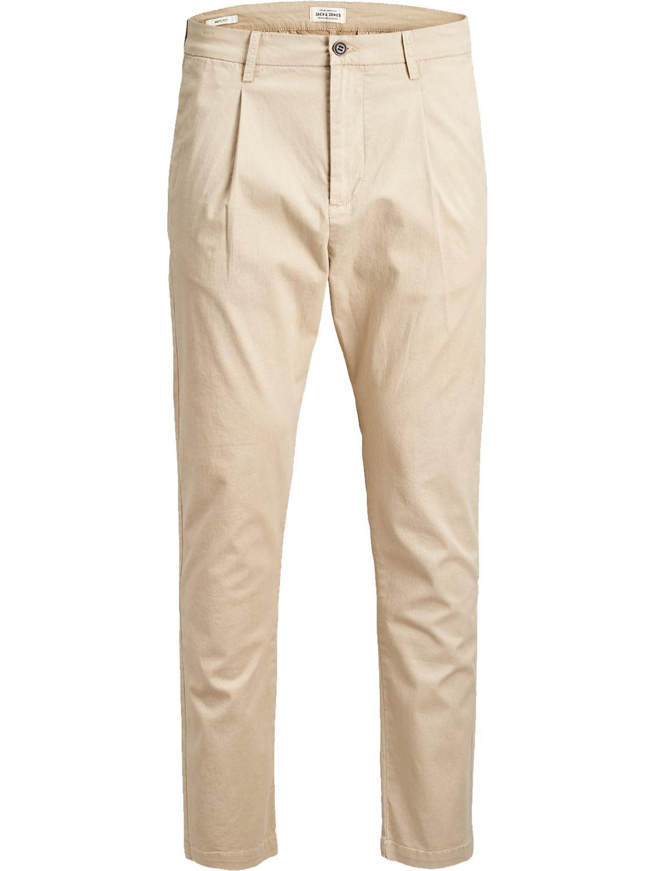 Jack-and-Jones-Para-hombre-Pantalones-Pantalones-Algodon-Anti-Fit-Twill-Disenador-Jeans-Chinos miniatura 7