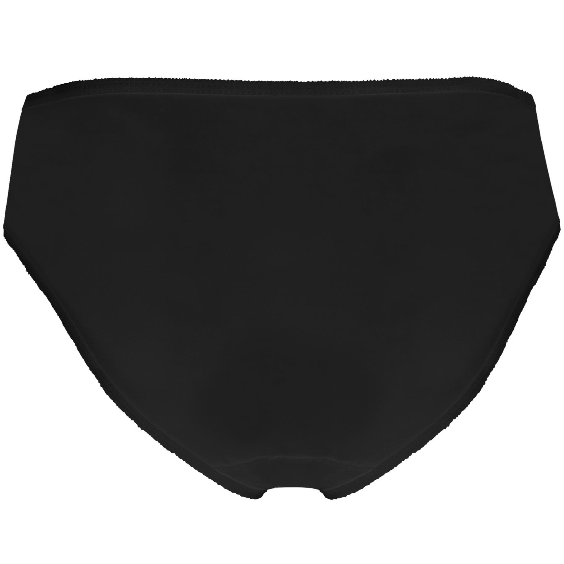 3 Pack Ladies Bikini Briefs Panties Womens Cotton Knickers Underwear Size 10-18