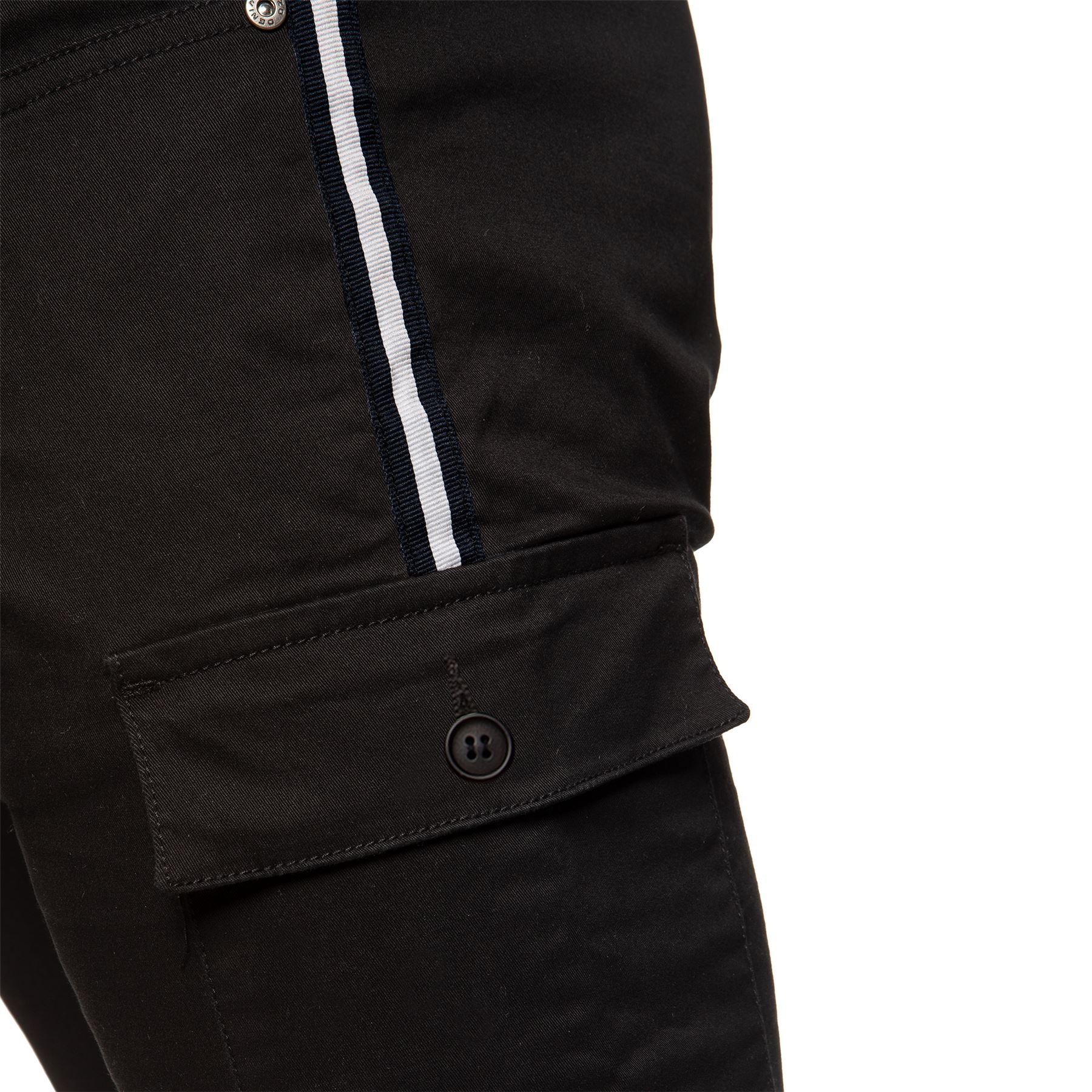 Enzo-Jeans-Mens-Combat-Trousers-Cargo-Chinos-Slim-Stretch-Cuffed-Joggers-Pants thumbnail 7