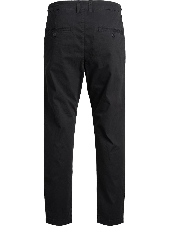 Jack-and-Jones-Para-hombre-Pantalones-Pantalones-Algodon-Anti-Fit-Twill-Disenador-Jeans-Chinos miniatura 4
