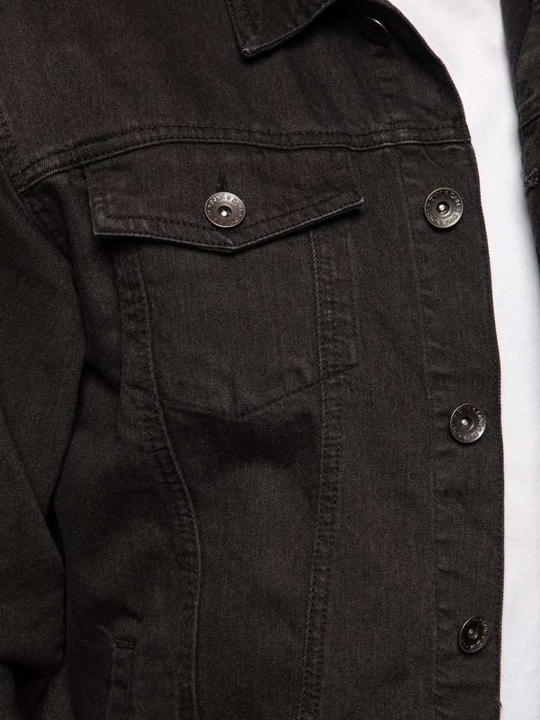 Enzo-Mens-Denim-Jacket-Classic-Western-Style-Designer-Trucker-Vintage-Style-Coat thumbnail 6