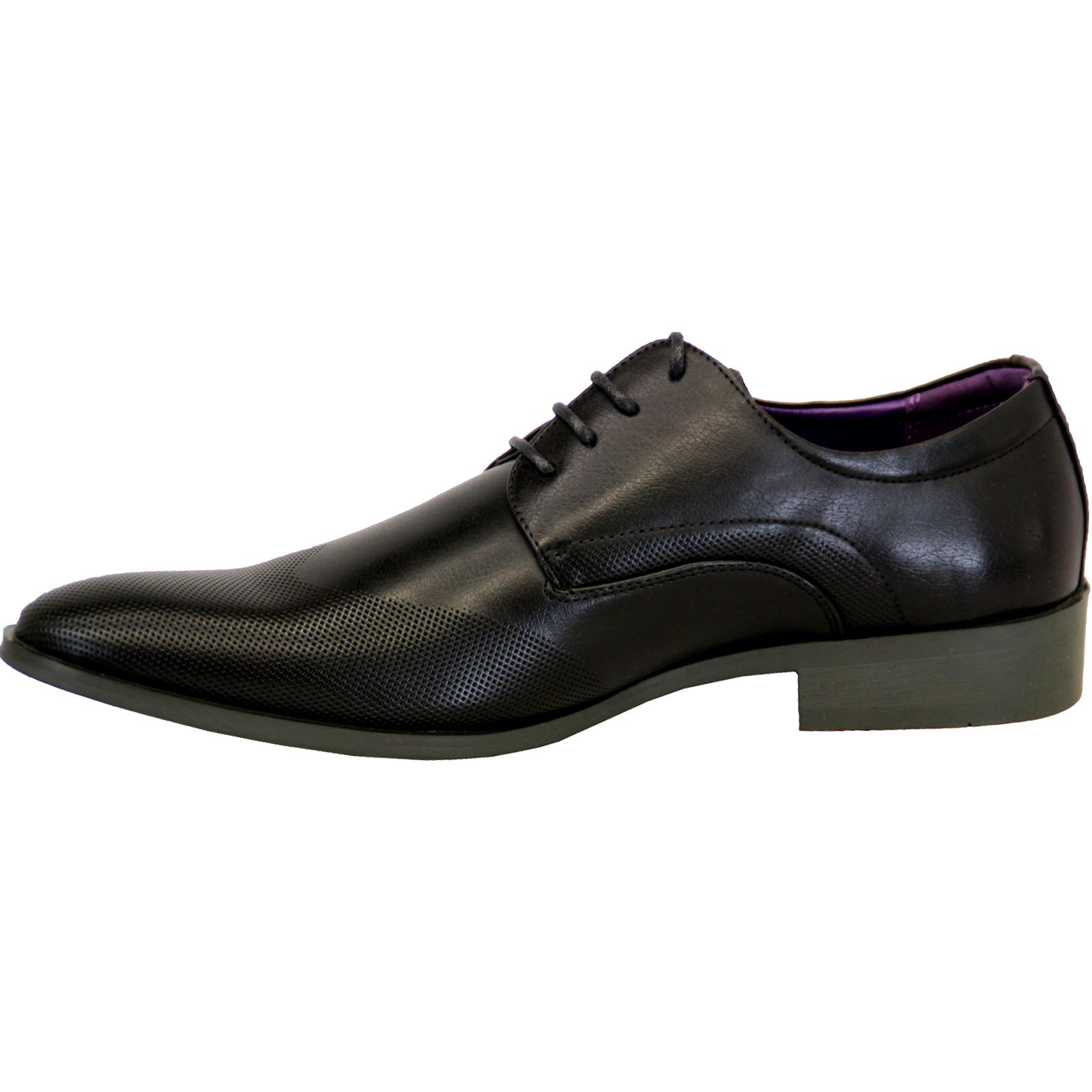 Mens-Faux-Leather-Shoes-Smart-Formal-Wedding-Office-Lace-Up-Designer-Brogues thumbnail 11