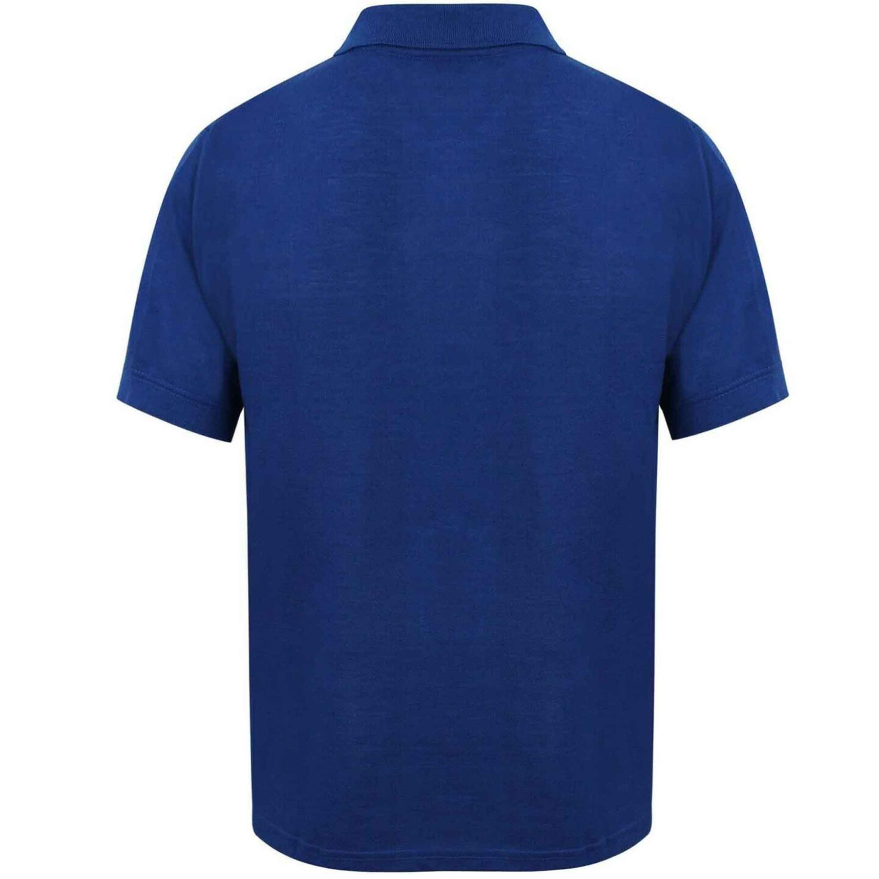 Indexbild 54 - Herren Polohemd Freizeit T-Shirts Neu Schlicht Kurzärmeliges Regular Fit