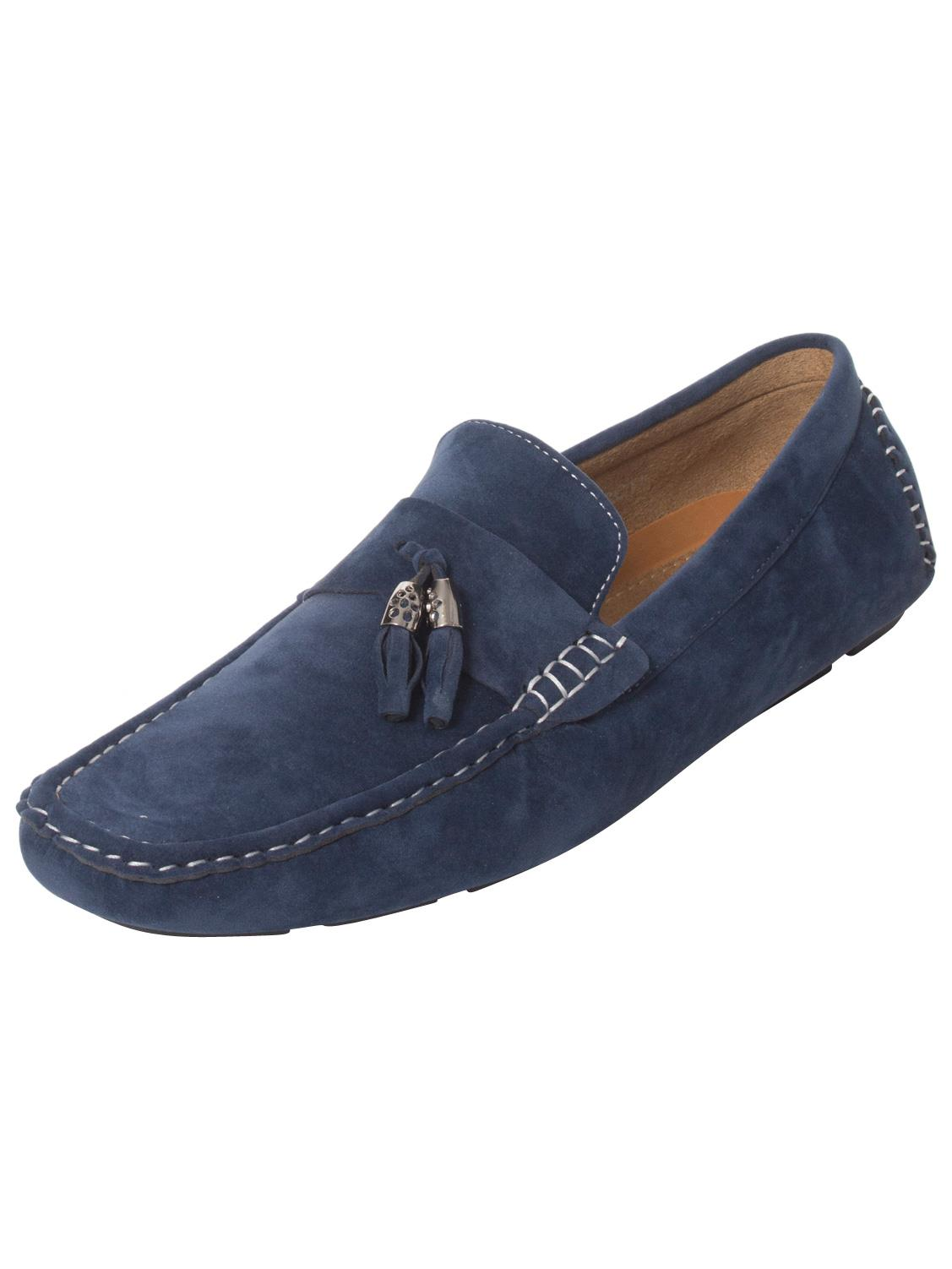 Mens-Slip-Ons-Shoes-Boat-Deck-Driving-Smart-Buckle-Moccasins-Suede-Look-Loafers thumbnail 64