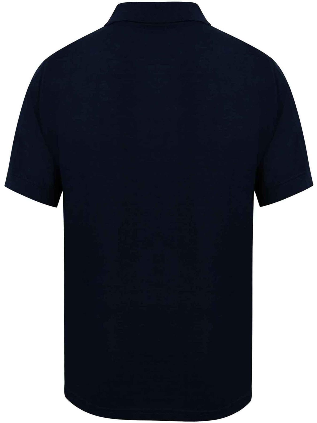 Indexbild 17 - Herren Polohemd Freizeit T-Shirts Neu Schlicht Kurzärmeliges Regular Fit