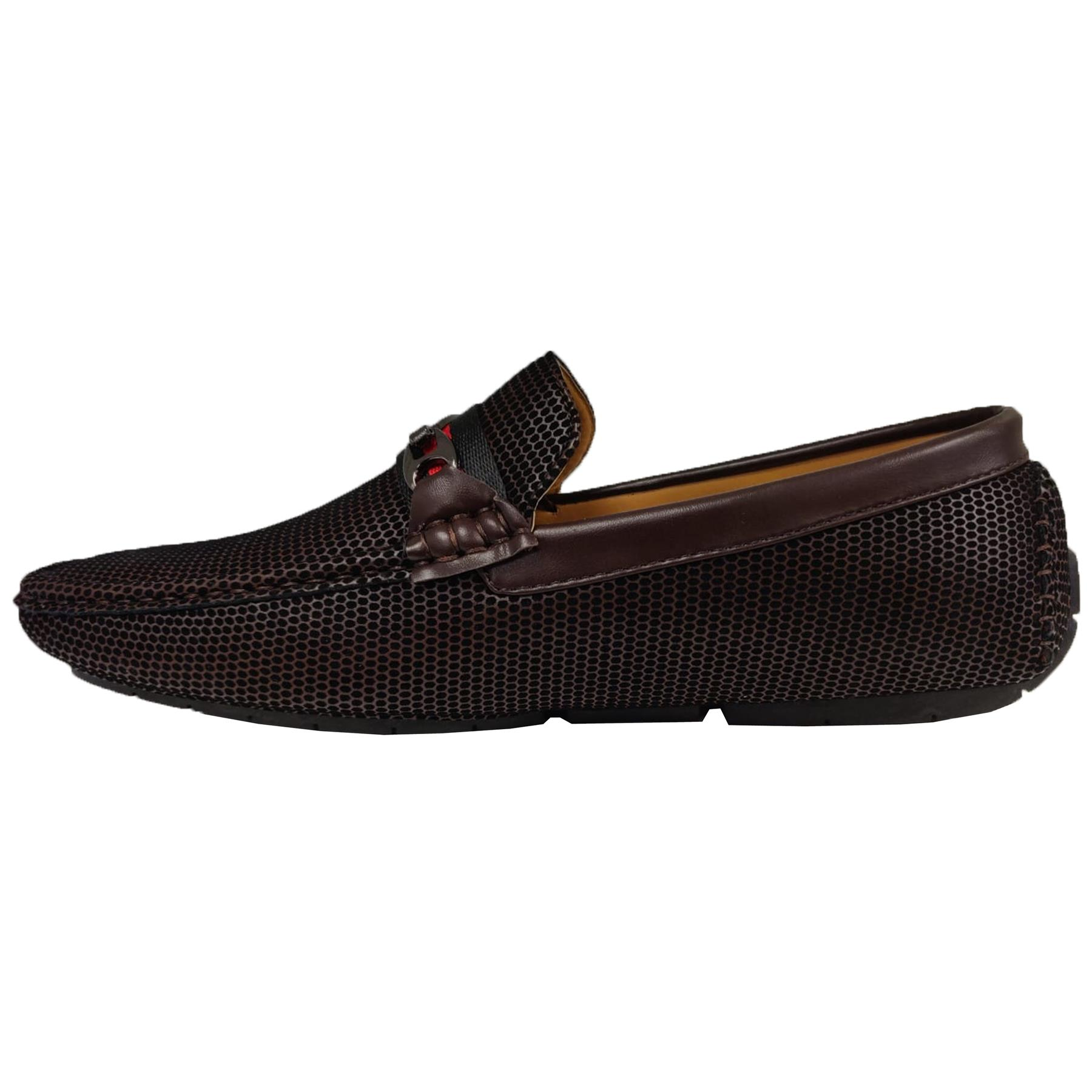 Mens-Slip-Ons-Shoes-Boat-Deck-Driving-Smart-Buckle-Moccasins-Suede-Look-Loafers thumbnail 56