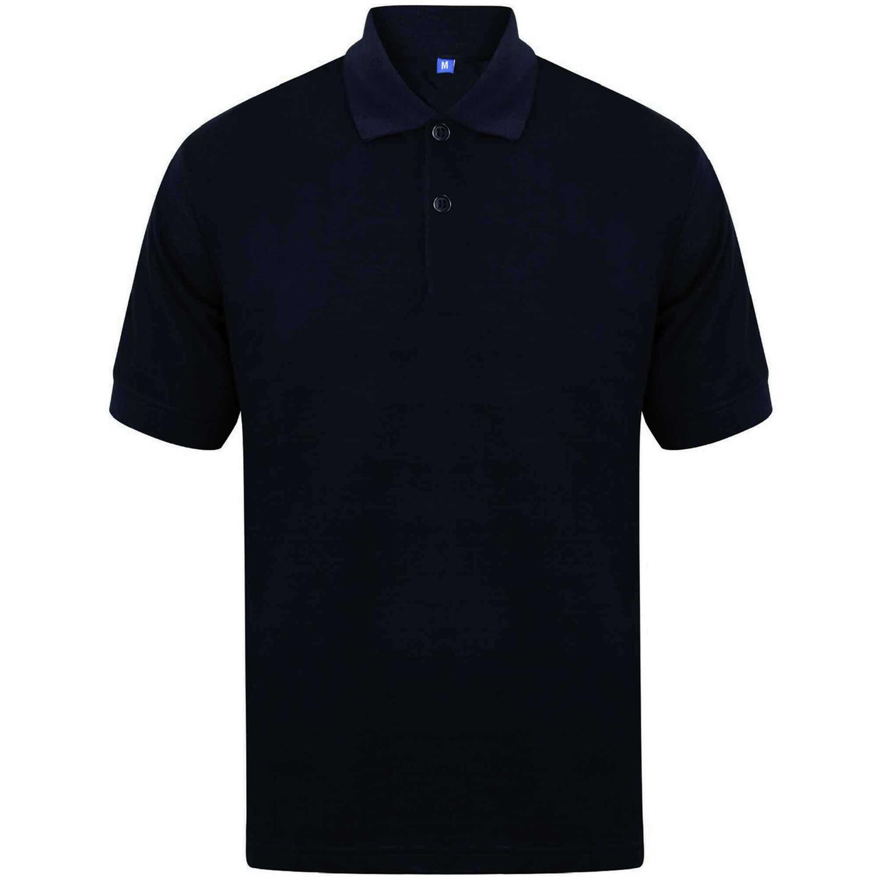 Indexbild 15 - Herren Polohemd Freizeit T-Shirts Neu Schlicht Kurzärmeliges Regular Fit
