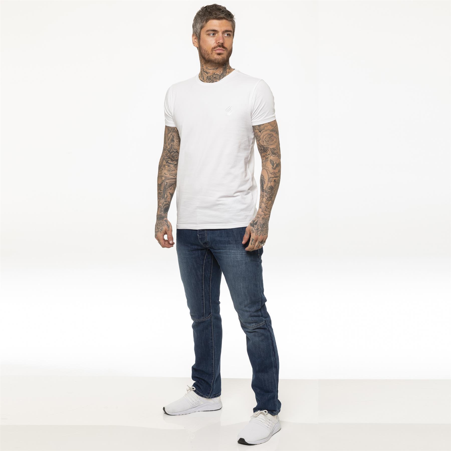 miniature 13 - Enzo pour homme coupe droite regular leg homme travail Denim Pantalon Toutes Tailles Tailles