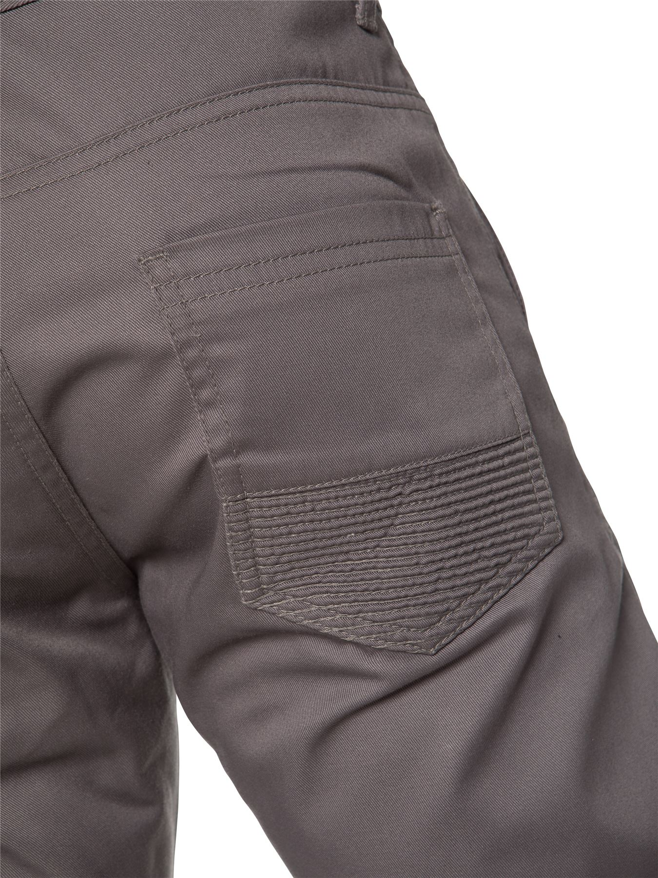 Enzo-Designer-Mens-Cuffed-Chinos-Biker-Jeans-Slim-Denim-Trousers-Pants-Joggers thumbnail 13
