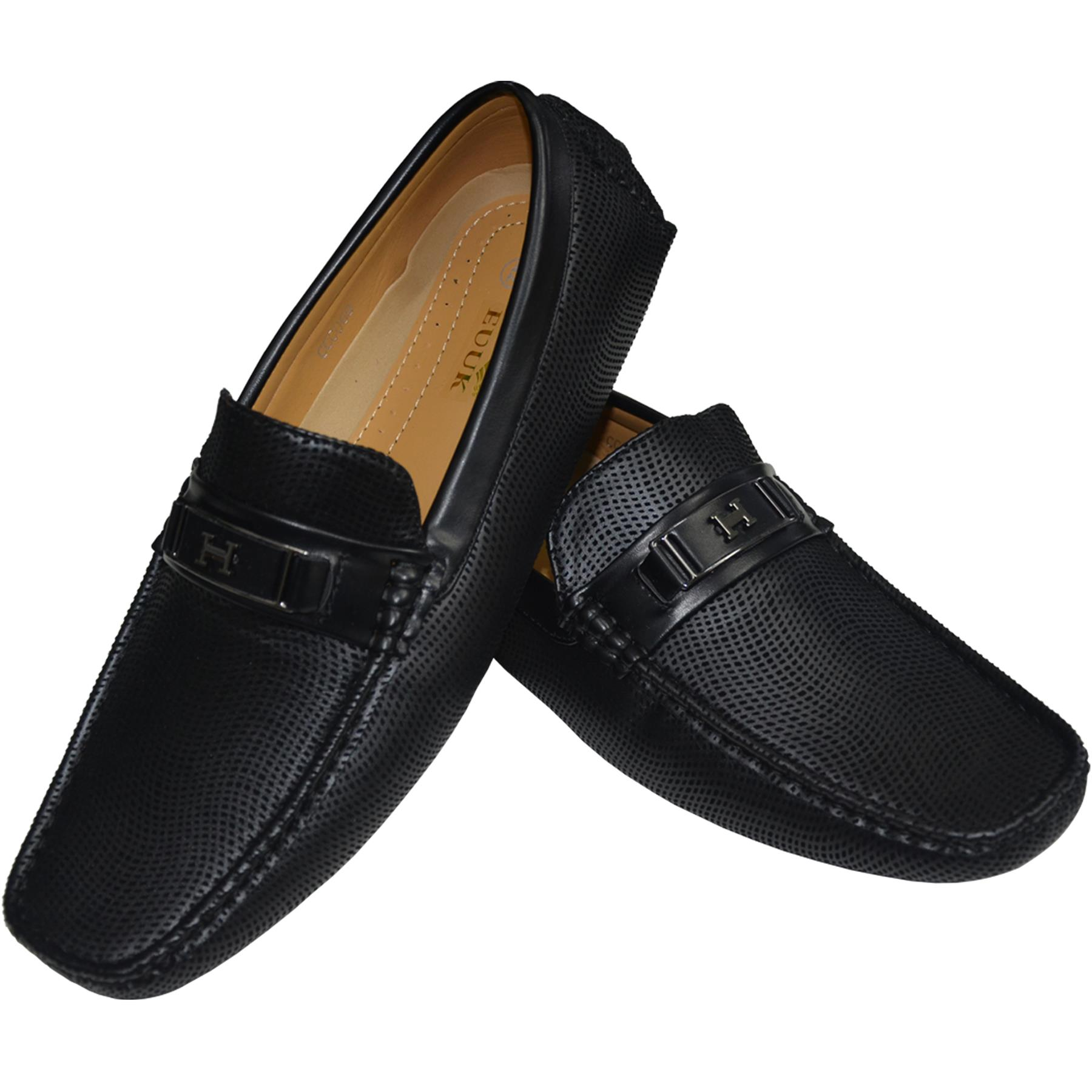 Mens-Suede-Loafers-Shoes-Moccasin-Slip-On-Casual-Boat-Driving-UK-Sizes-6-12 thumbnail 4