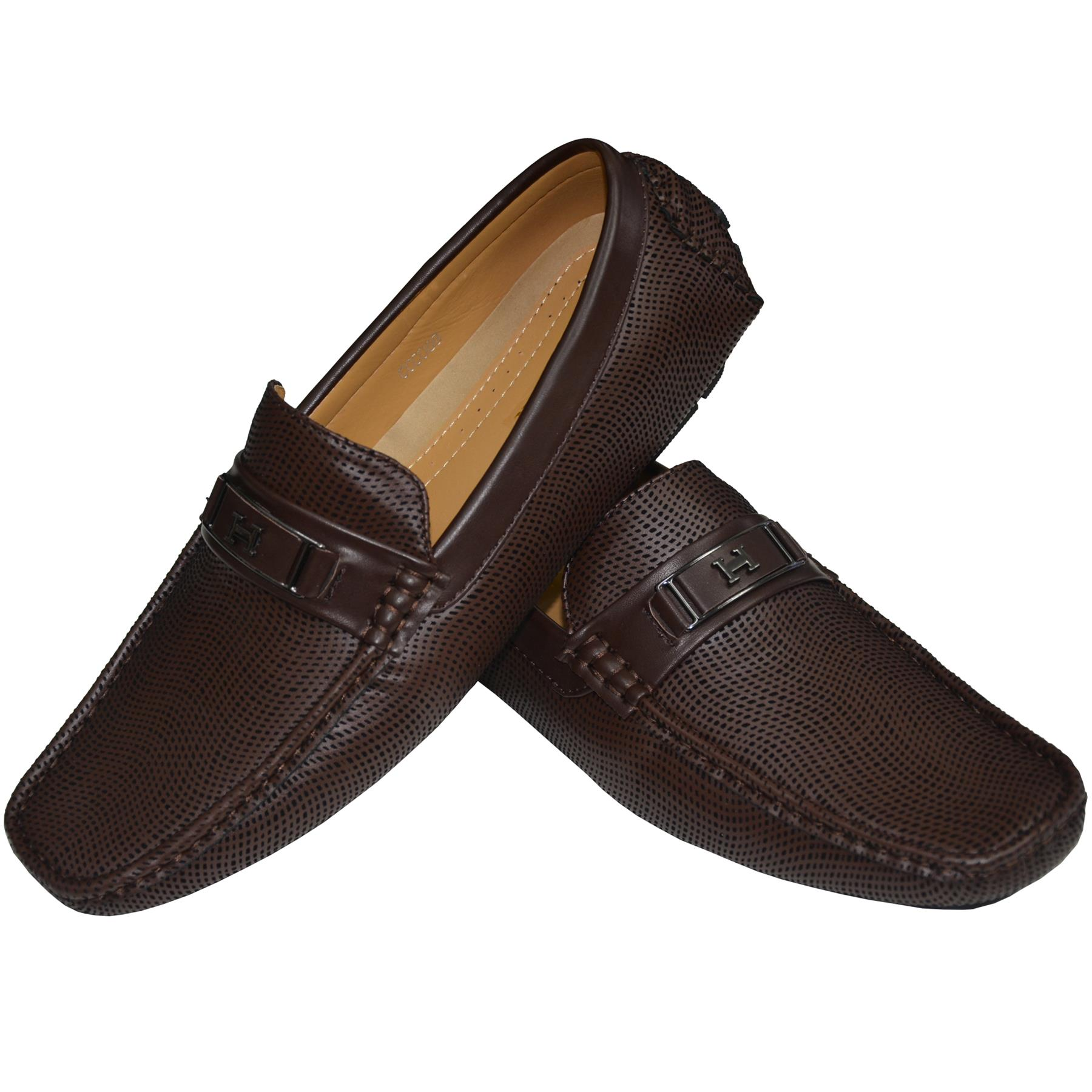 Mens-Suede-Loafers-Shoes-Moccasin-Slip-On-Casual-Boat-Driving-UK-Sizes-6-12 thumbnail 16