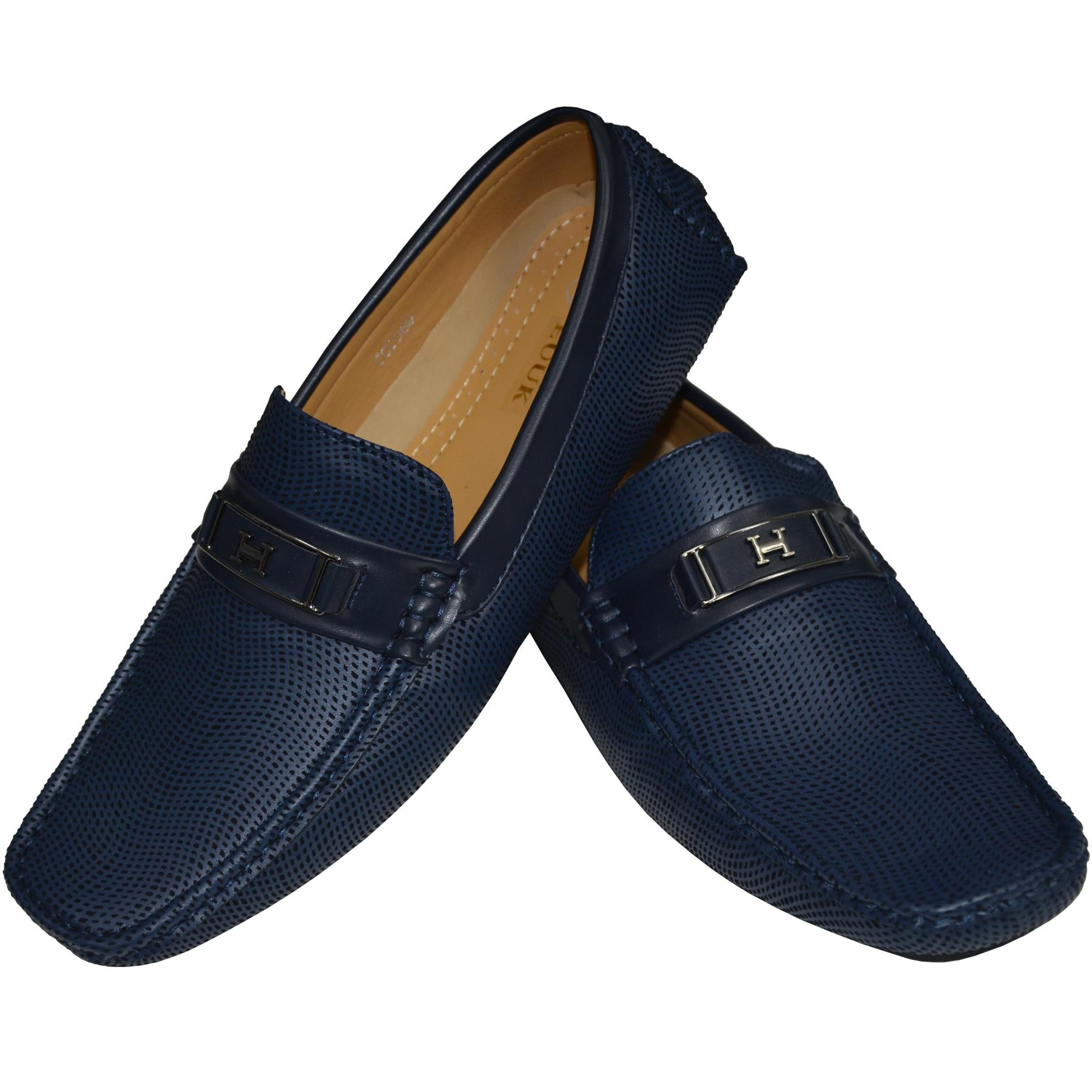 Mens-Suede-Loafers-Shoes-Moccasin-Slip-On-Casual-Boat-Driving-UK-Sizes-6-12 thumbnail 10