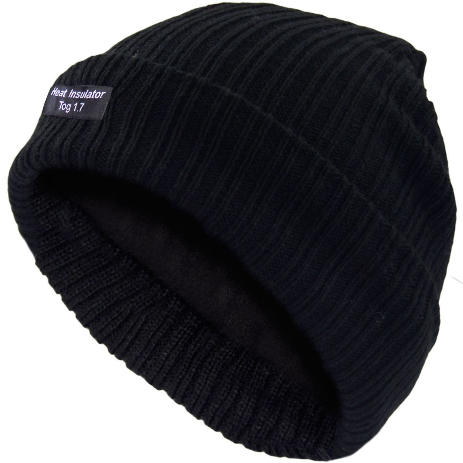 Thermal Beanie Hats for Mens Winter Warm Woolly Extra Thick Heat Insulator Hat