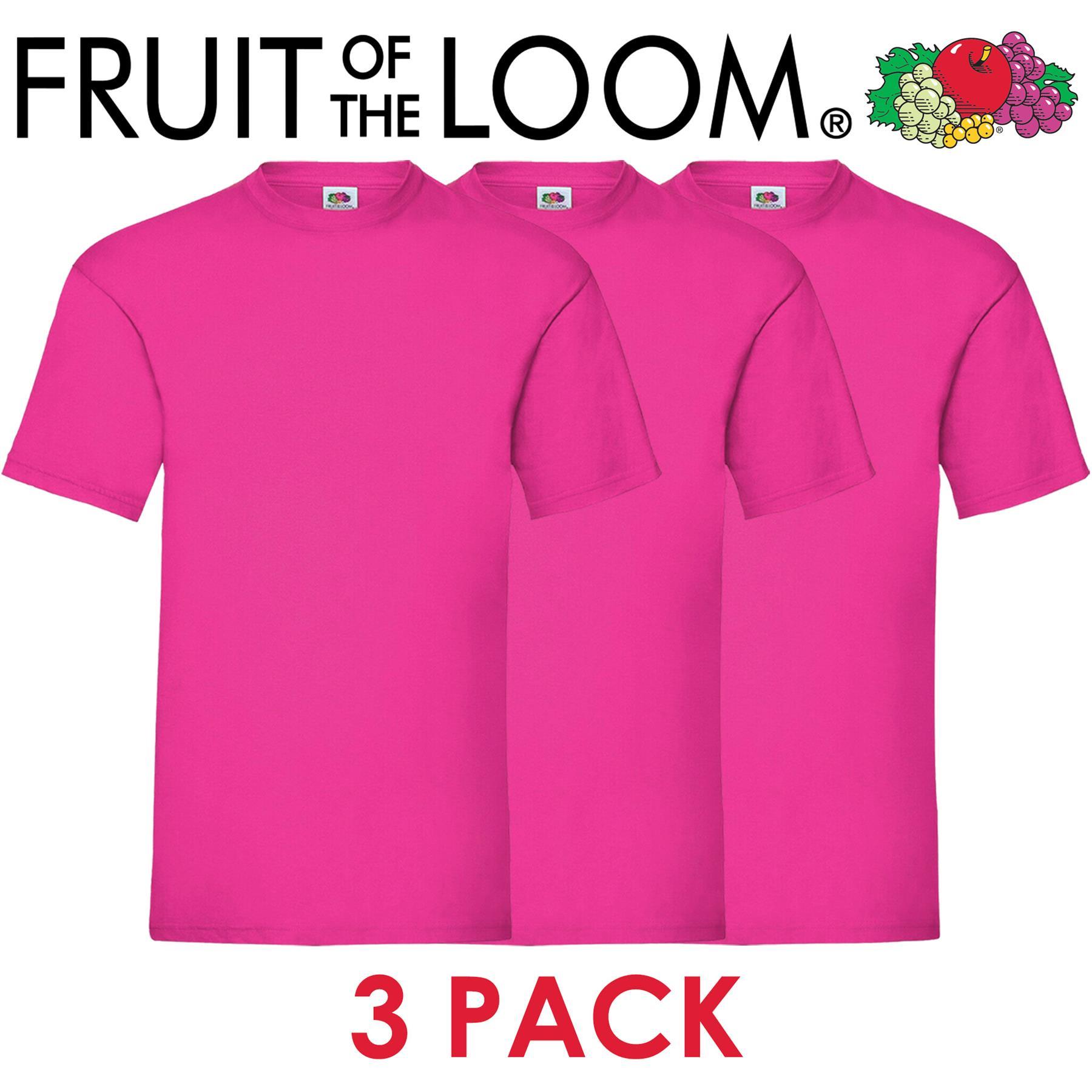 3-amp-5-Pack-Fruit-of-The-Loom-Mens-T-Shirts-100-Cotton-Plain-Short-Sleeve-Tee thumbnail 9