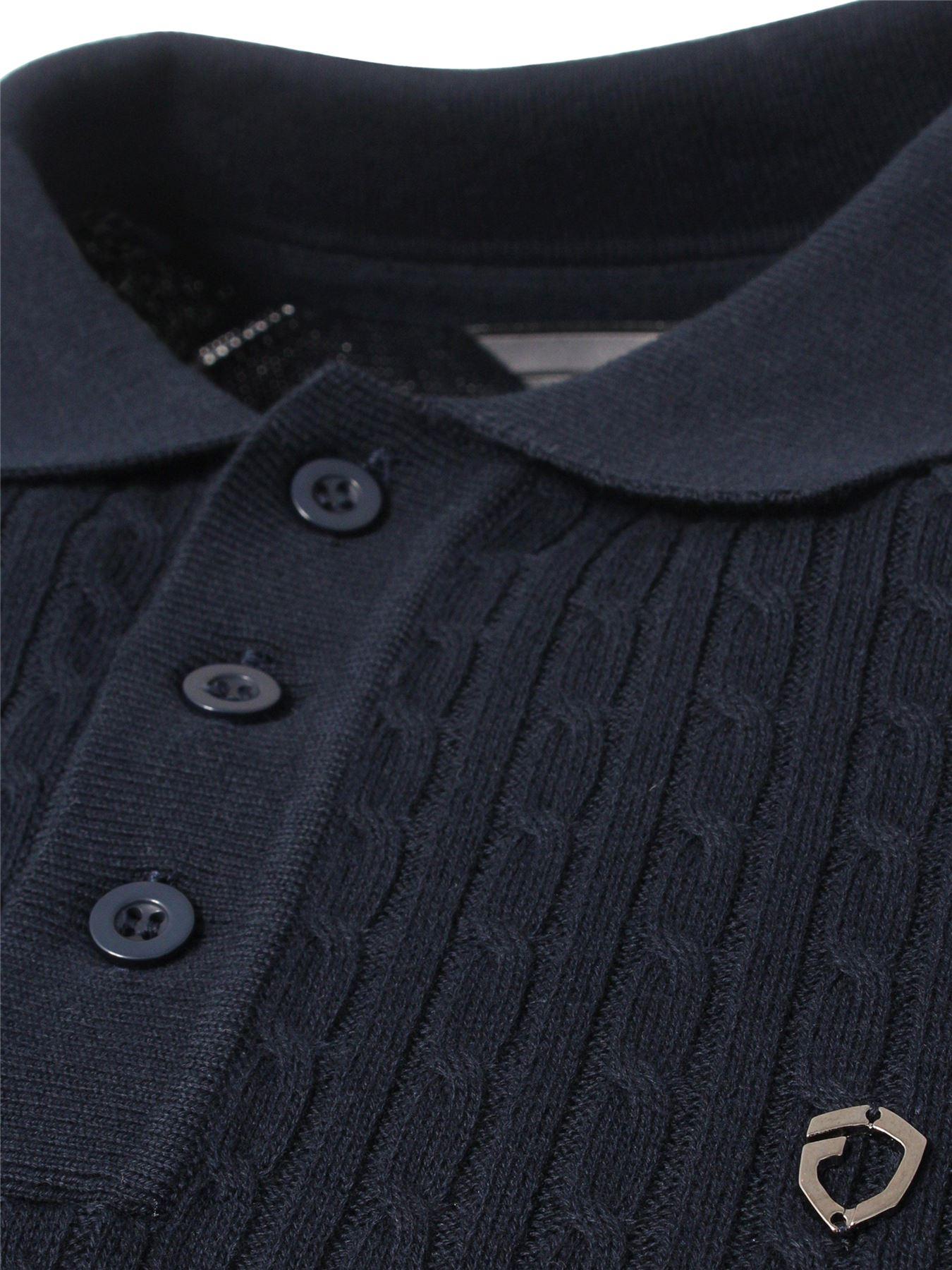Eto-Para-Hombre-Disenador-Polo-Knitted-Jumper-cuello-redondo-generos-de-punto-manga-larga-Sueter miniatura 18
