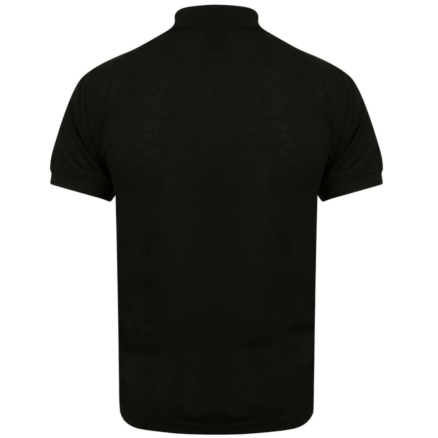 Indexbild 6 - Herren Polohemd Freizeit T-Shirts Neu Schlicht Kurzärmeliges Regular Fit