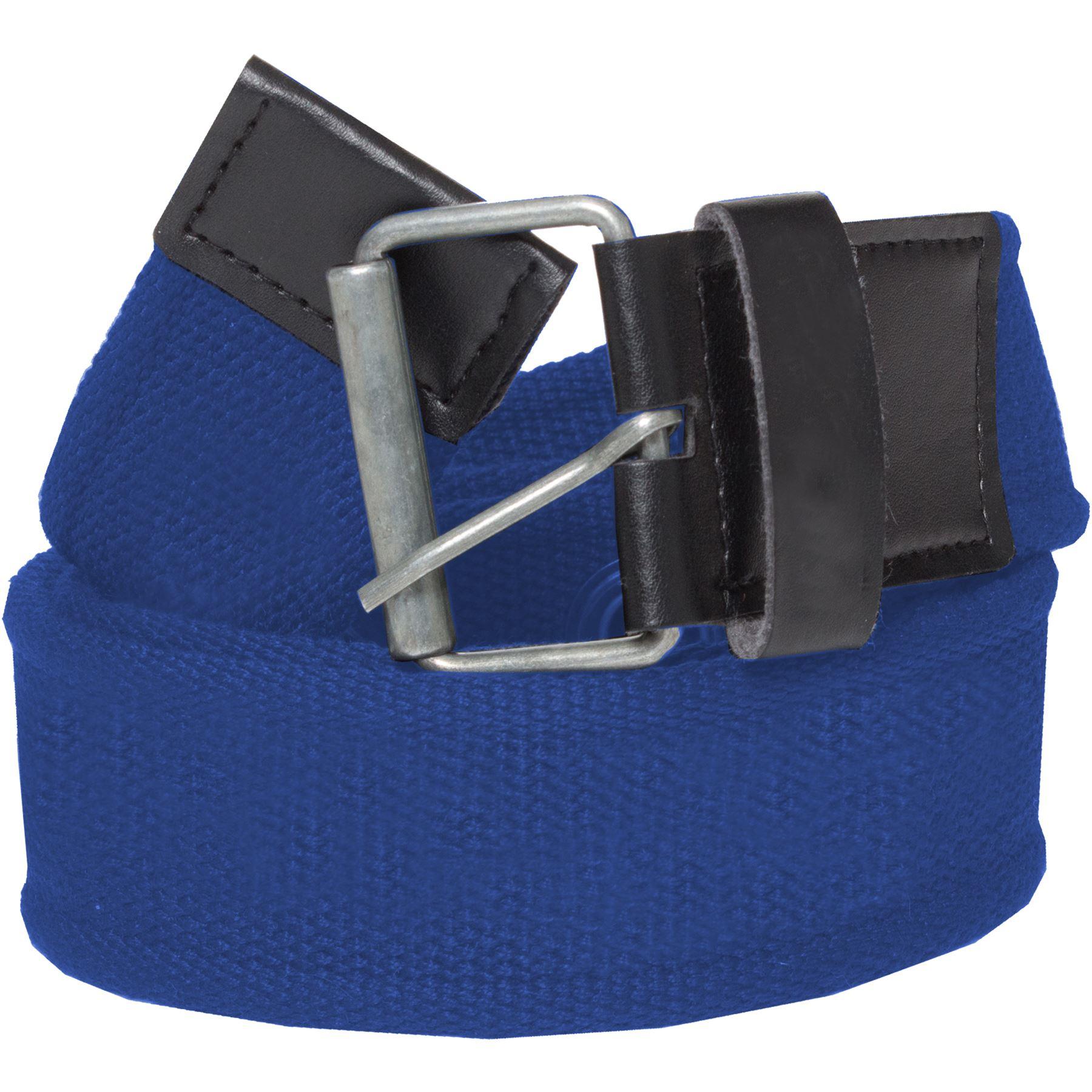New-Kruze-Mens-Designer-Canvas-Buckle-Belt-For-Jeans-Big-Tall-King-Sizes