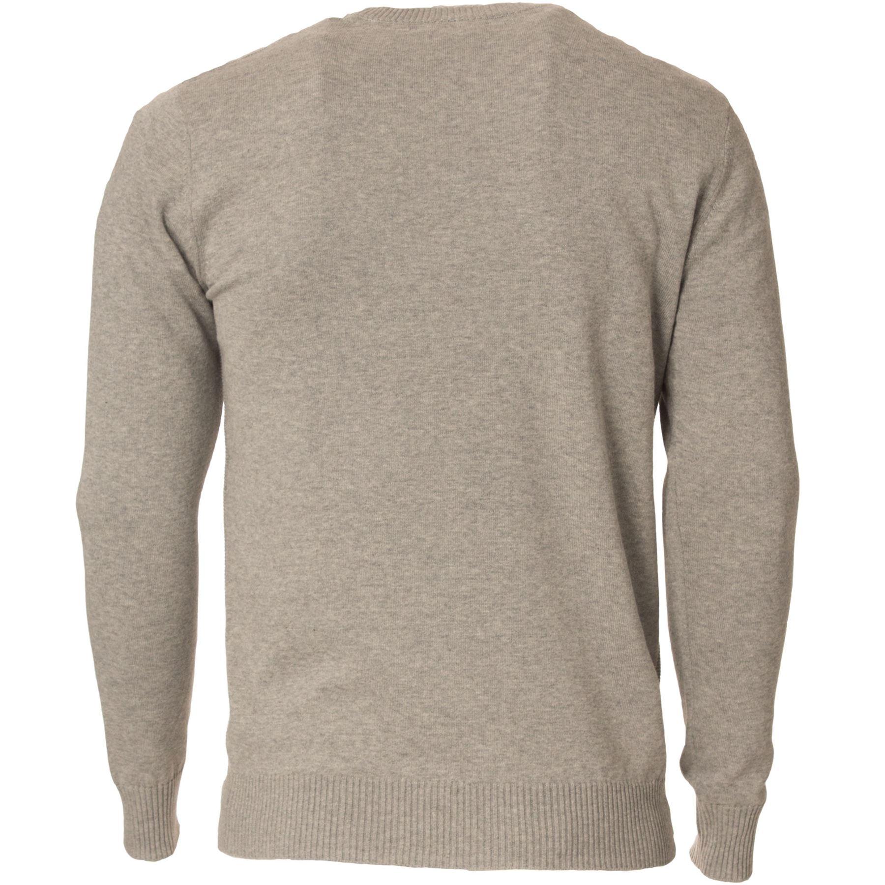 Eto-Para-Hombre-Disenador-Polo-Knitted-Jumper-cuello-redondo-generos-de-punto-manga-larga-Sueter miniatura 11