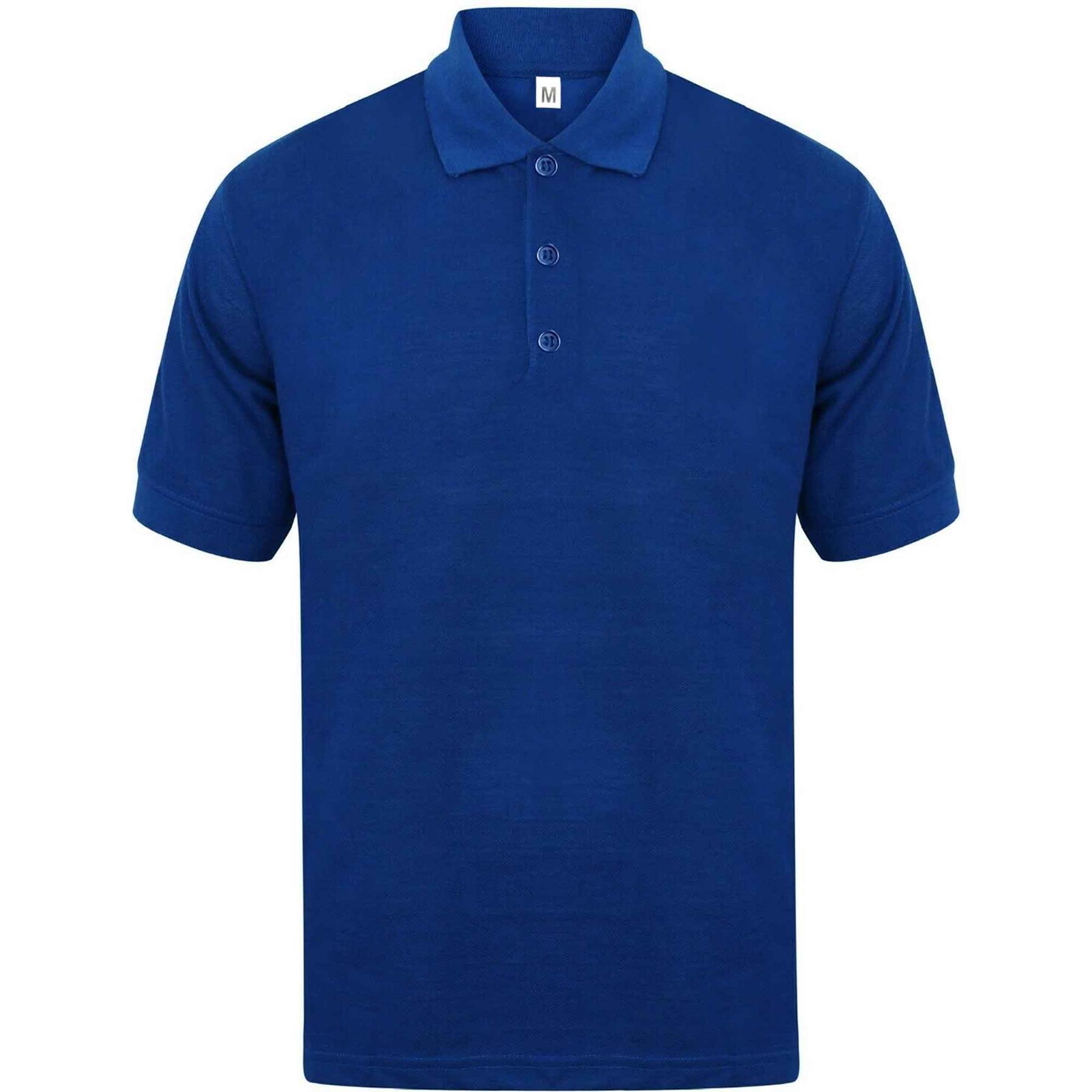 Indexbild 53 - Herren Polohemd Freizeit T-Shirts Neu Schlicht Kurzärmeliges Regular Fit