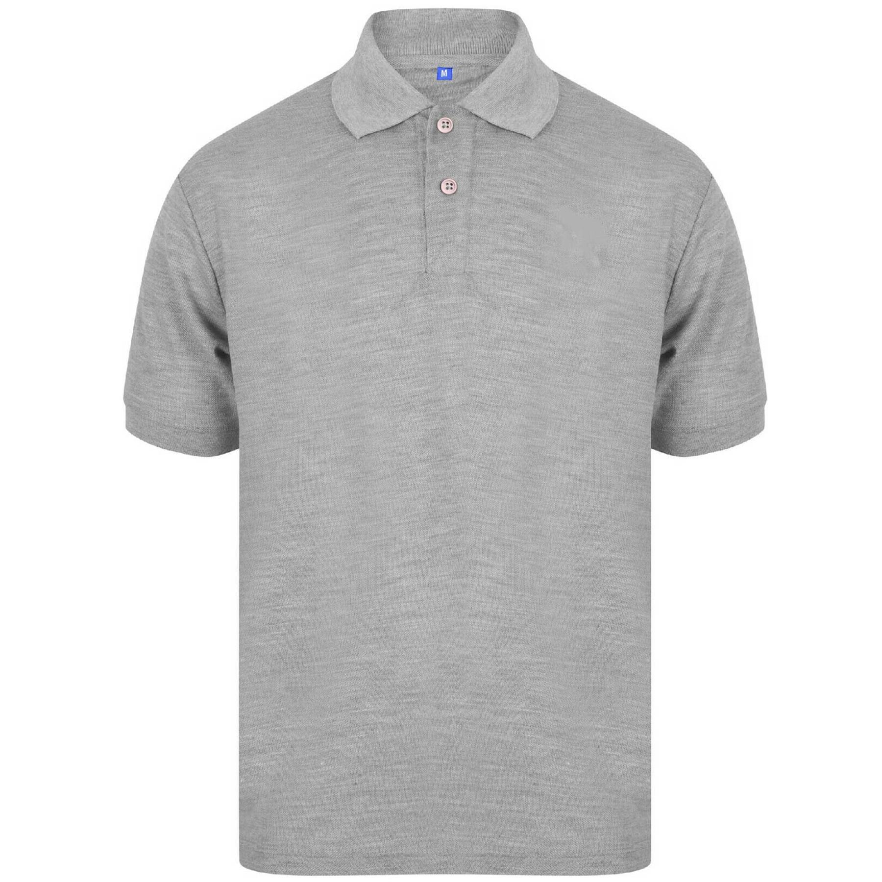 Indexbild 24 - Herren Polohemd Freizeit T-Shirts Neu Schlicht Kurzärmeliges Regular Fit
