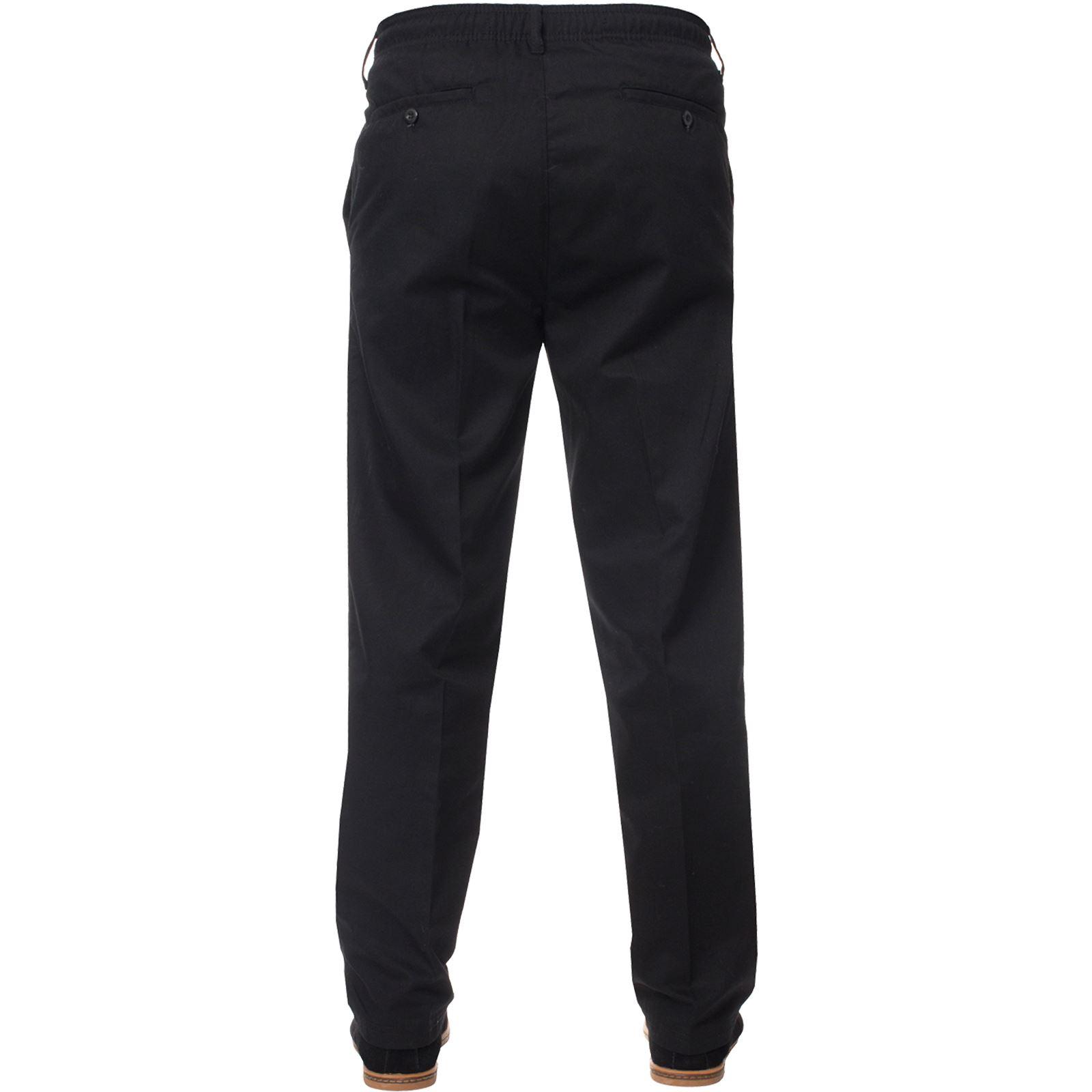 Para-Hombres-Pantalones-De-Rugby-Kruze-cintura-elastica-con-cordon-pantalones-REGULAR-King-Tamanos miniatura 4