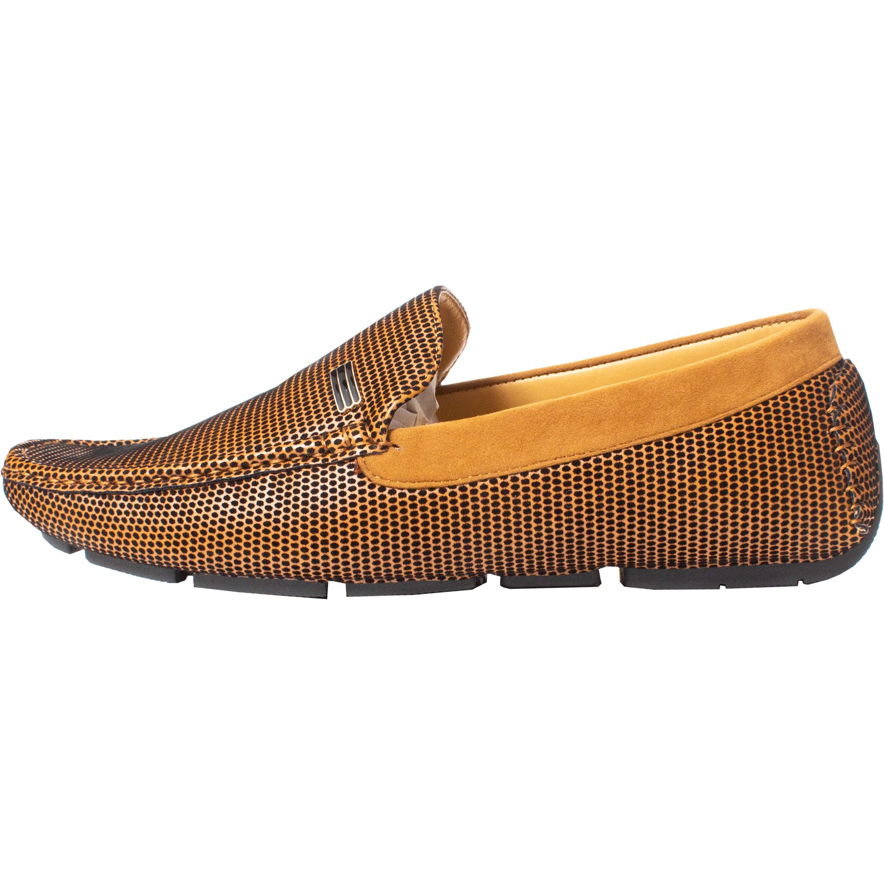 Mens-Slip-Ons-Shoes-Boat-Deck-Driving-Smart-Buckle-Moccasins-Suede-Look-Loafers thumbnail 105