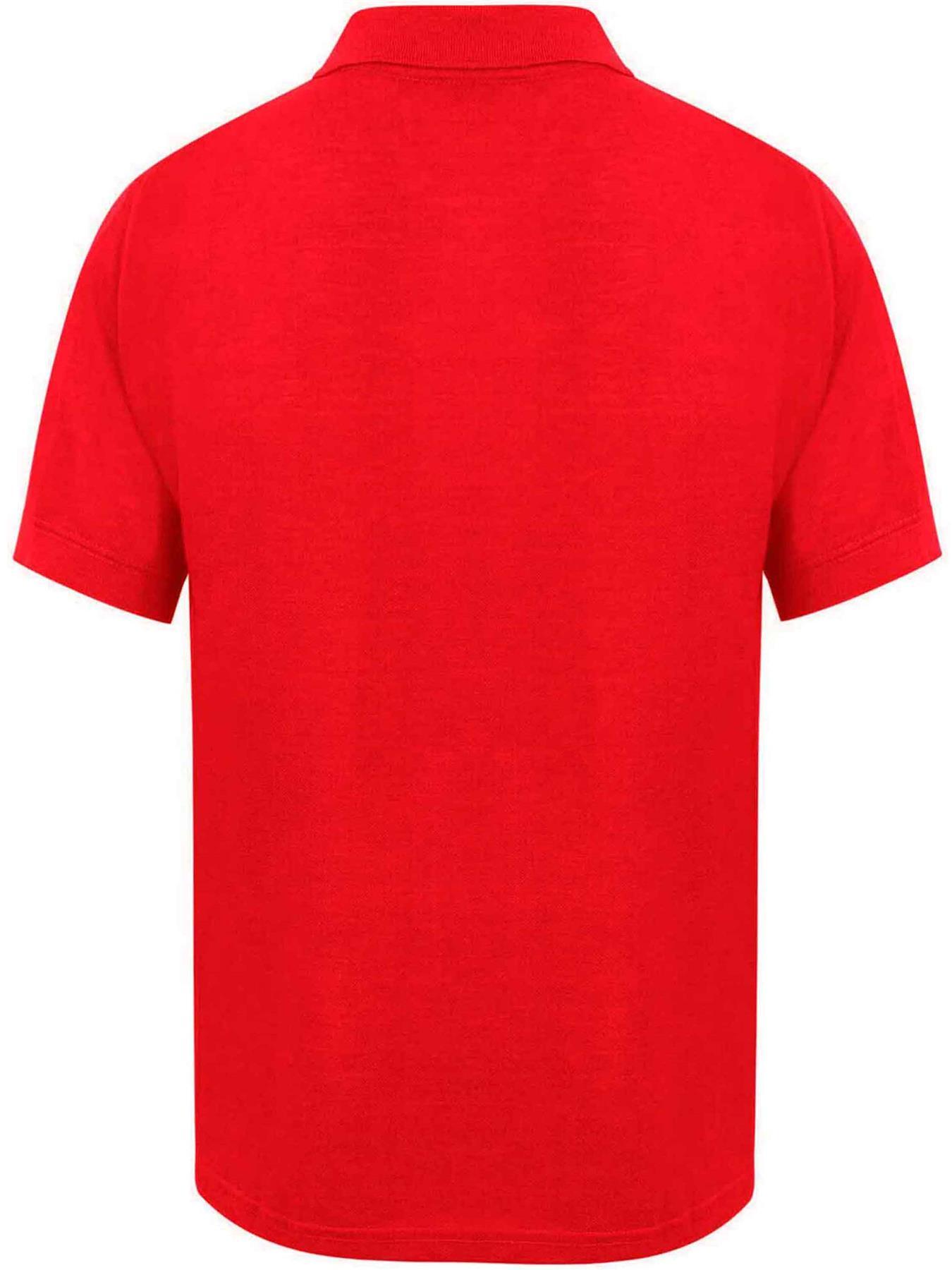 Indexbild 45 - Herren Polohemd Freizeit T-Shirts Neu Schlicht Kurzärmeliges Regular Fit