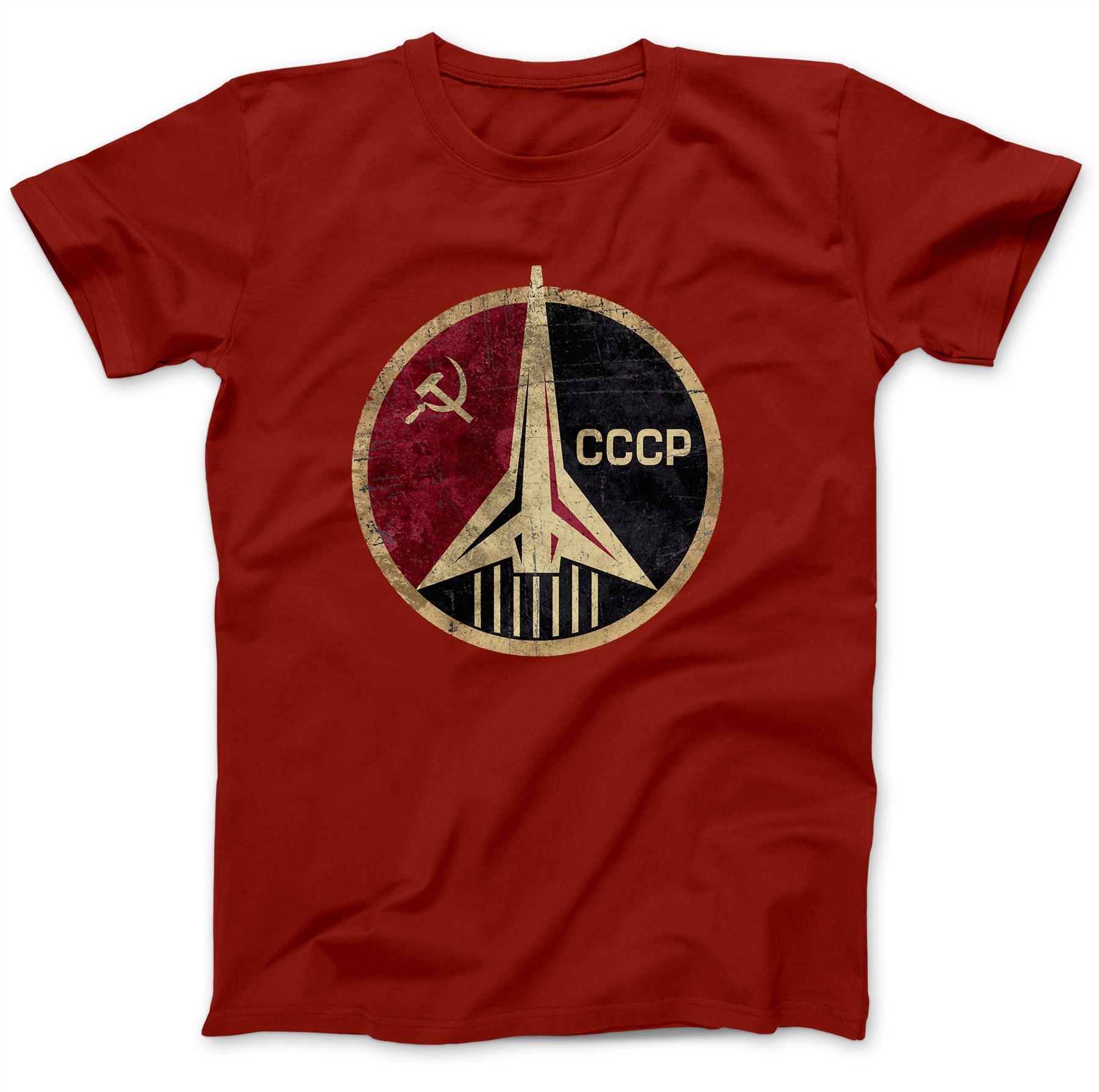 CCCP-Russian-Soviet-USSR-T-Shirt-100-Premium-Cotton-Hammer-And-Sickle Indexbild 21