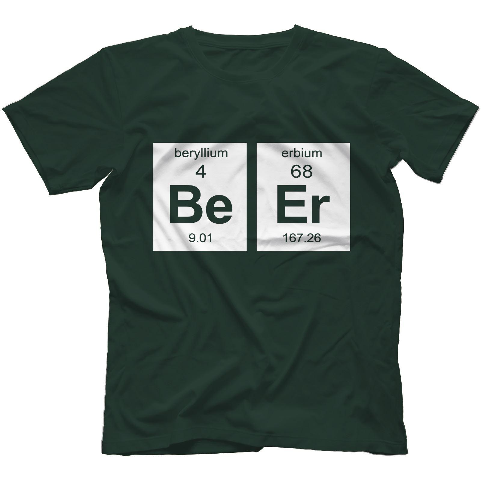 Beer element t shirt 100 cotton geek drinking alcohol periodic beer element t shirt 100 cotton geek drinking gamestrikefo Gallery