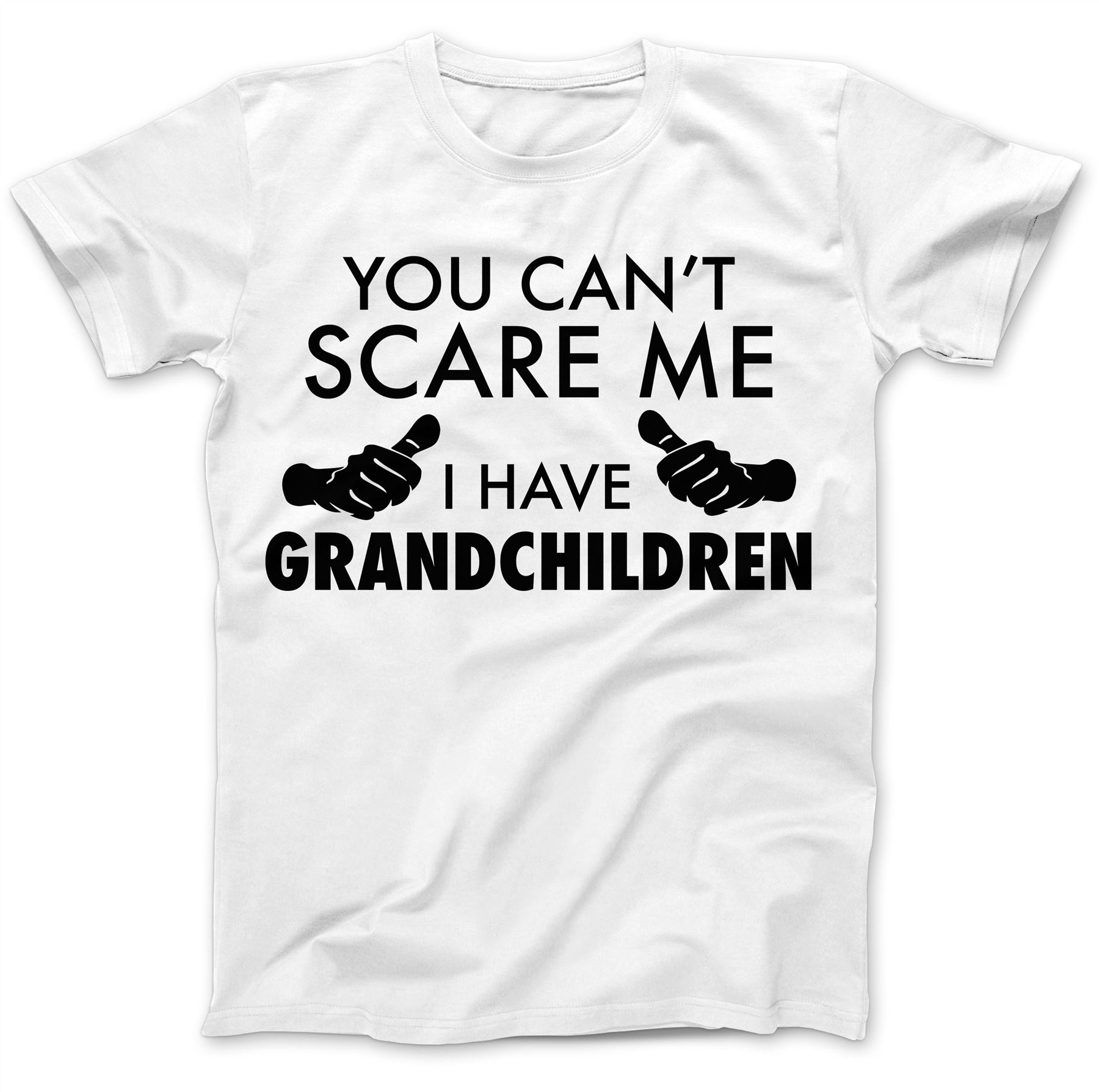 Mens Funny T-Shirt Fathers Day Grandad You Can/'t Scare Me I Have Grandkids